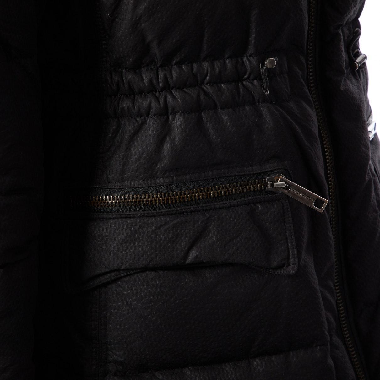 Mantel en Synthétique Noir Synthétique Burberry en coloris Noir 1sSB1