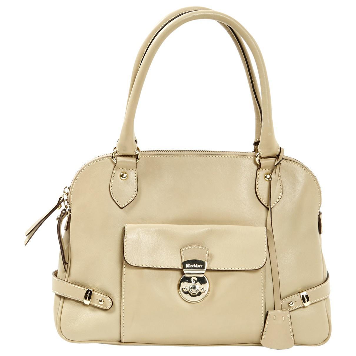 Max Mara Pre-owned - Leather handbag 1xoLnefy4v