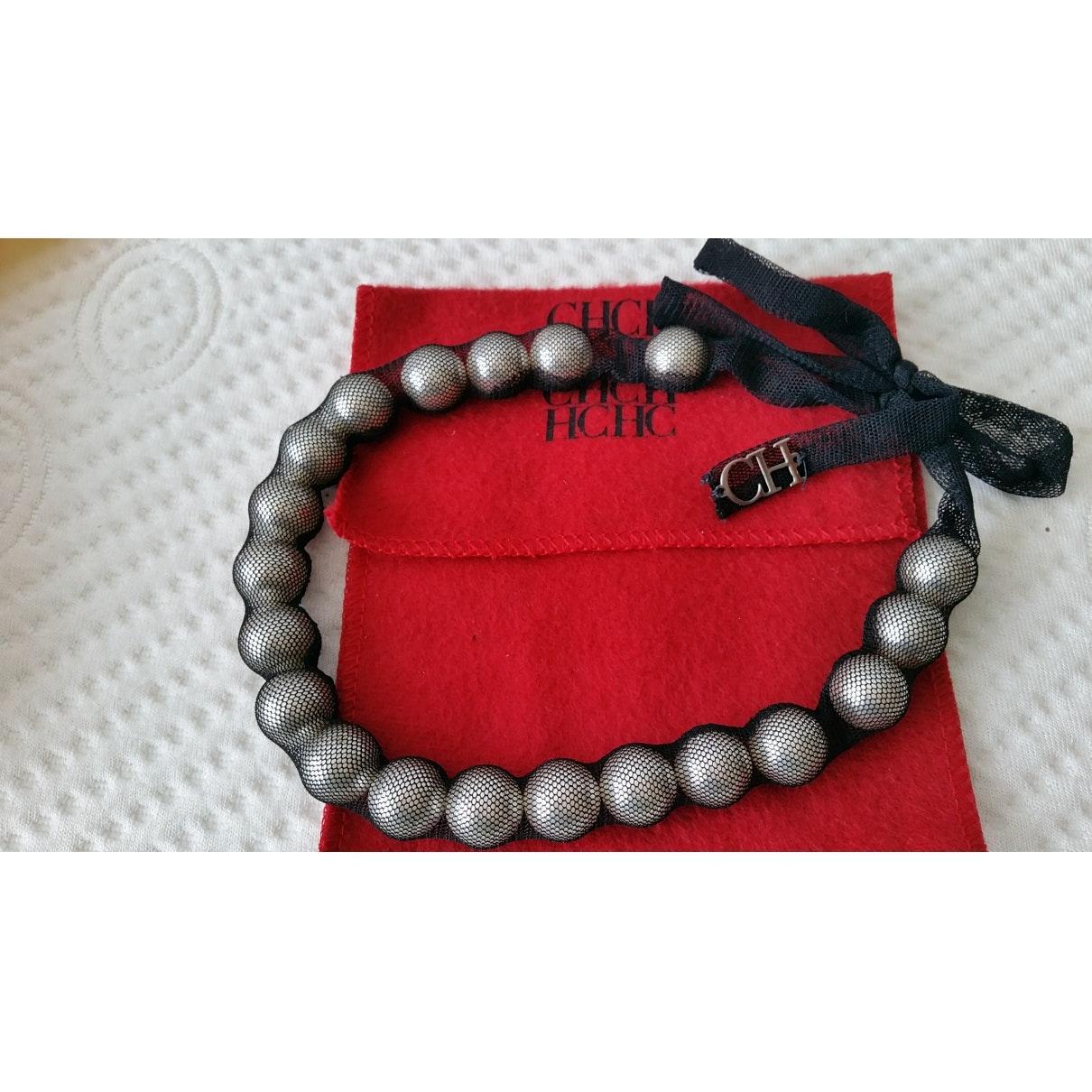 Carolina Herrera n Black Pearl Necklace