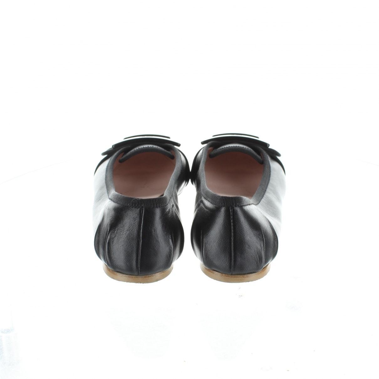 Bailarinas en charol negro N Roger Vivier de Cuero de color Negro