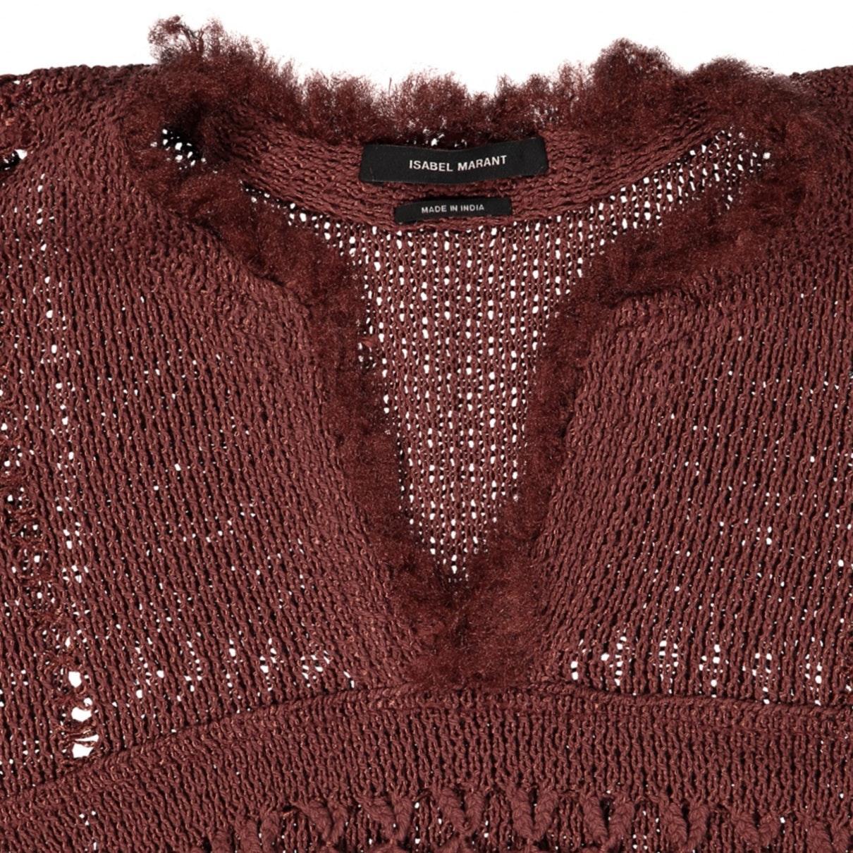 Camisa en algodón rojo N Isabel Marant de Algodón de color Rojo