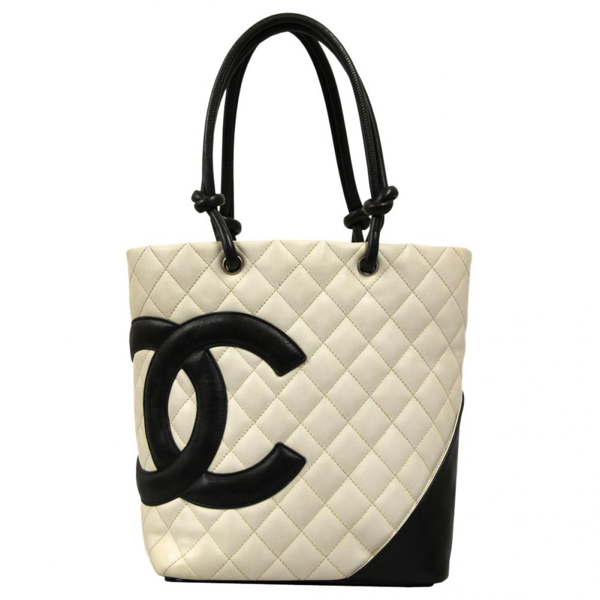 Chanel Pre-owned - Cambon leather handbag E3QYhl