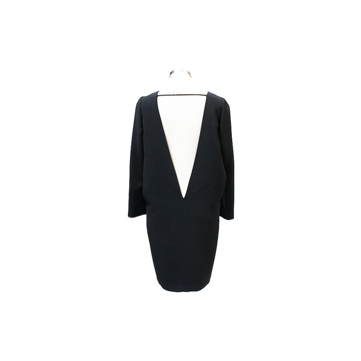 Vestido en lana negro N Barbara Bui de Lana de color Negro
