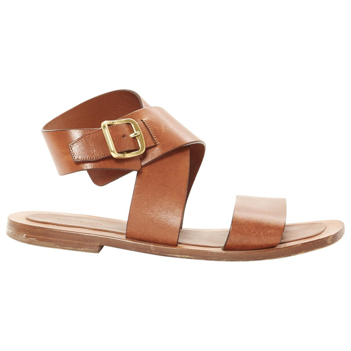 Pre-owned - Leather sandal Celine PtGsgBx