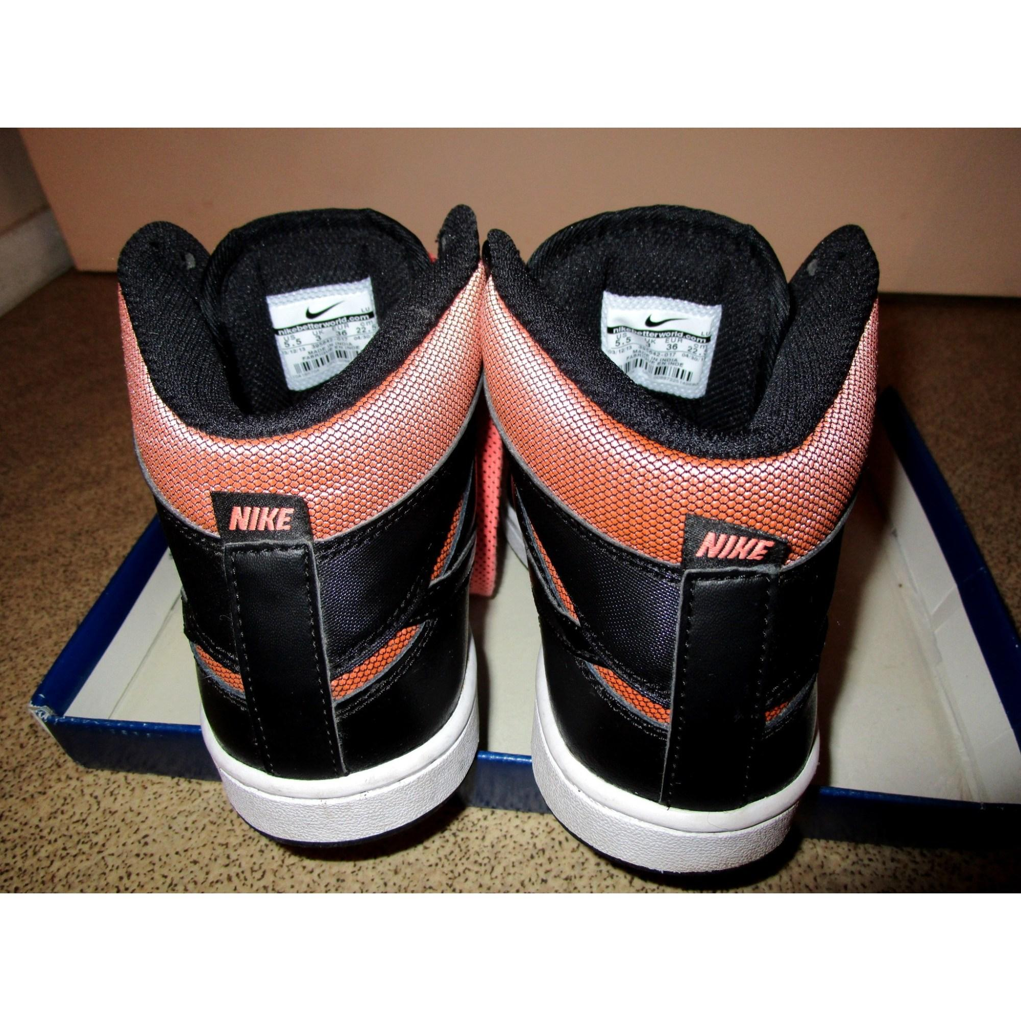 Baskets cuir noir Nike en coloris Noir zYoZ
