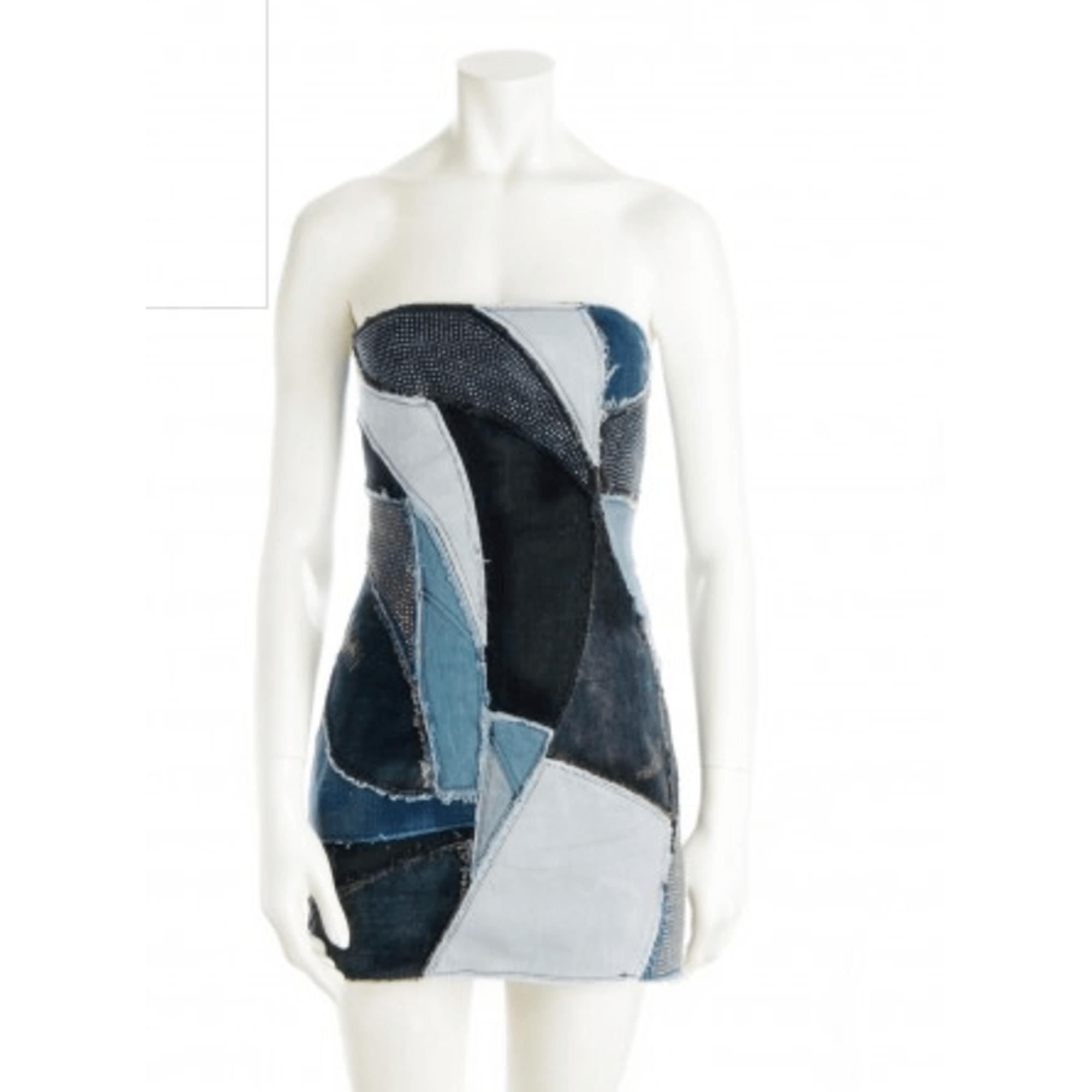 Robe en jeans denim, jean bleu Zadig & Voltaire en coloris Bleu