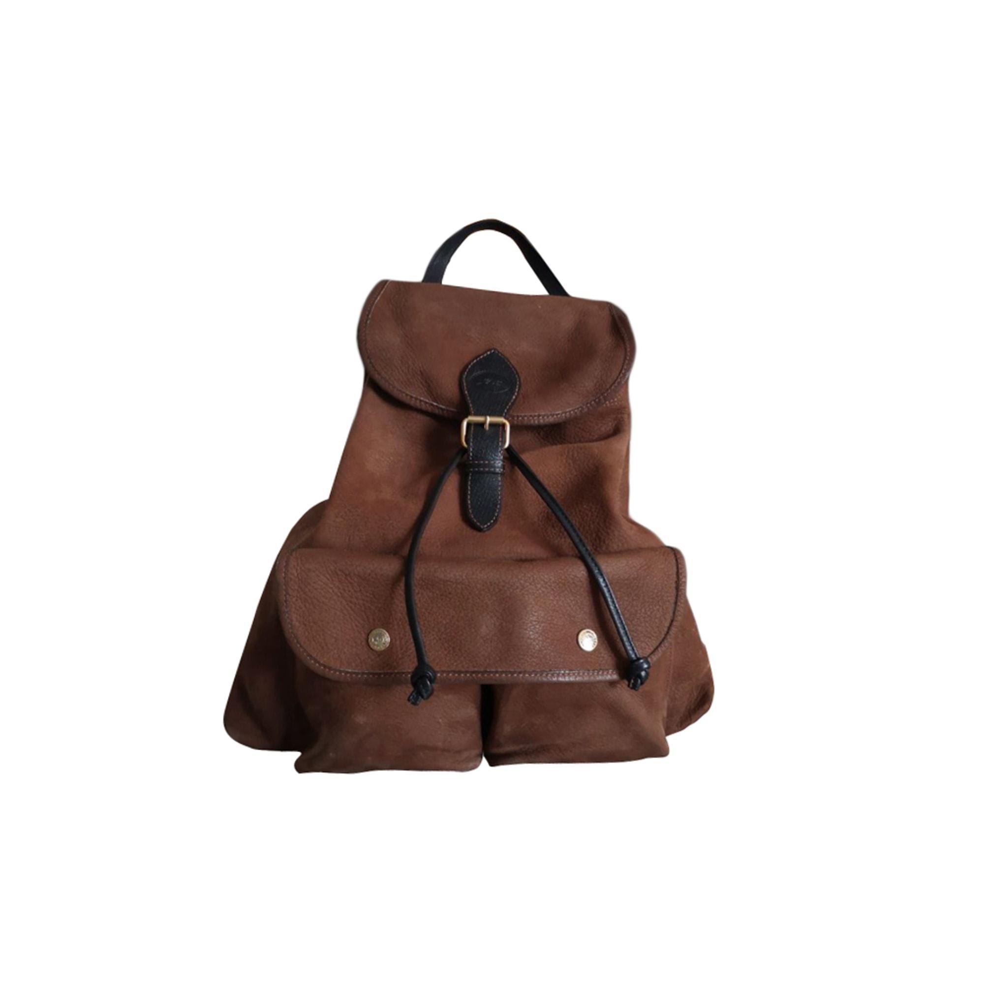 Sac à dos cuir marron Longchamp en coloris Marron Lyst