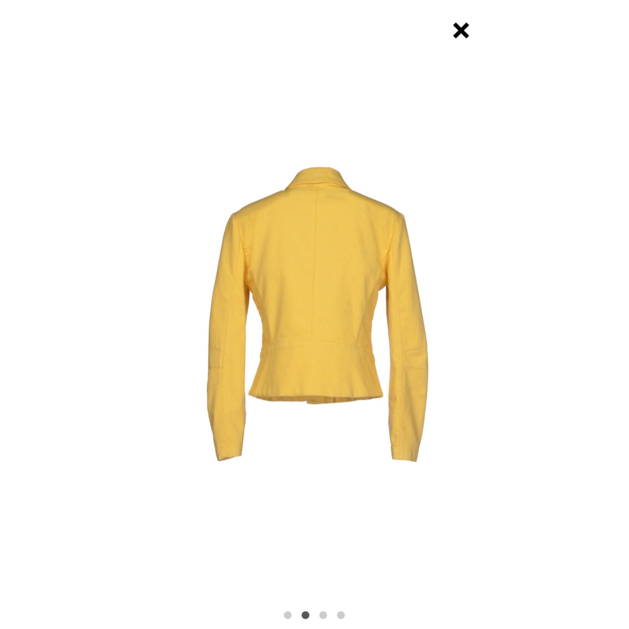 Blouson coton jaune Jil Sander en coloris Jaune
