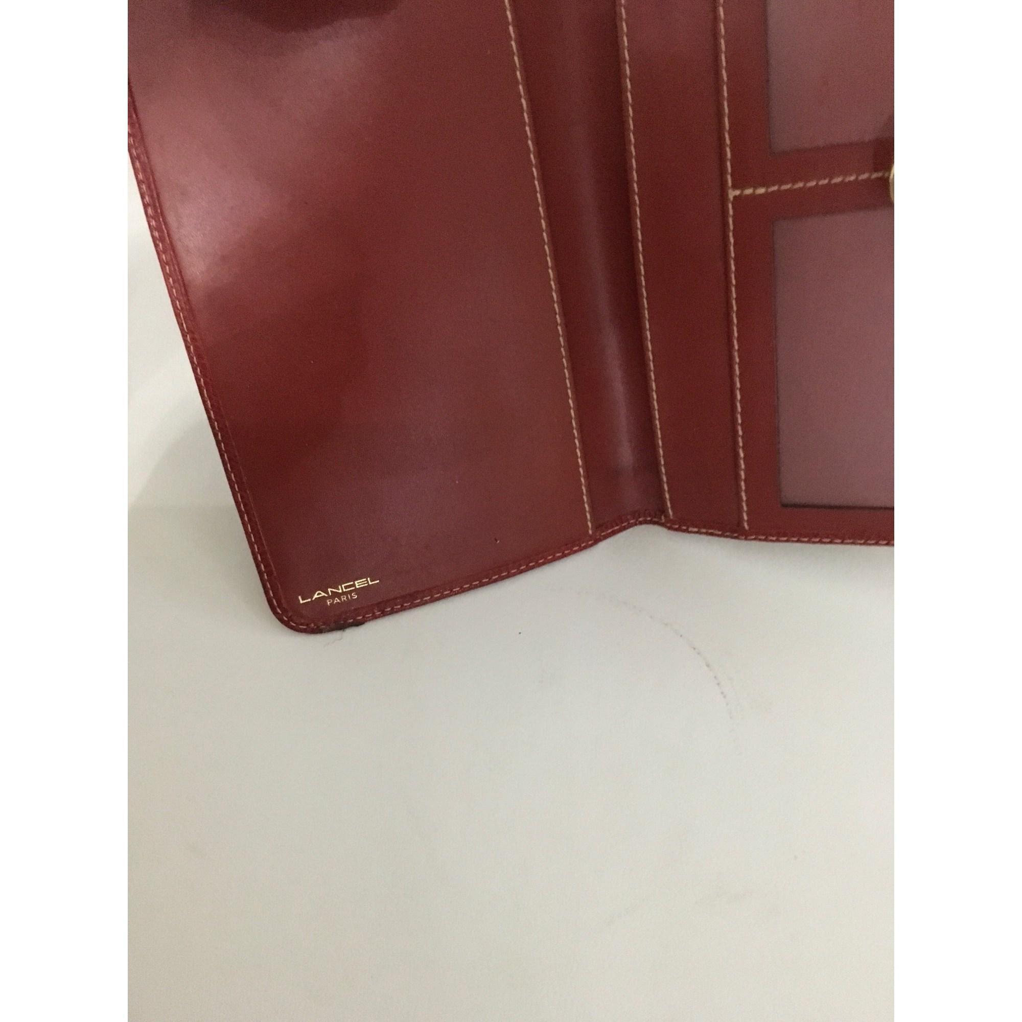 techniques modernes matériau sélectionné Garantie de satisfaction à 100% Porte-chéquier cuir rouge femme