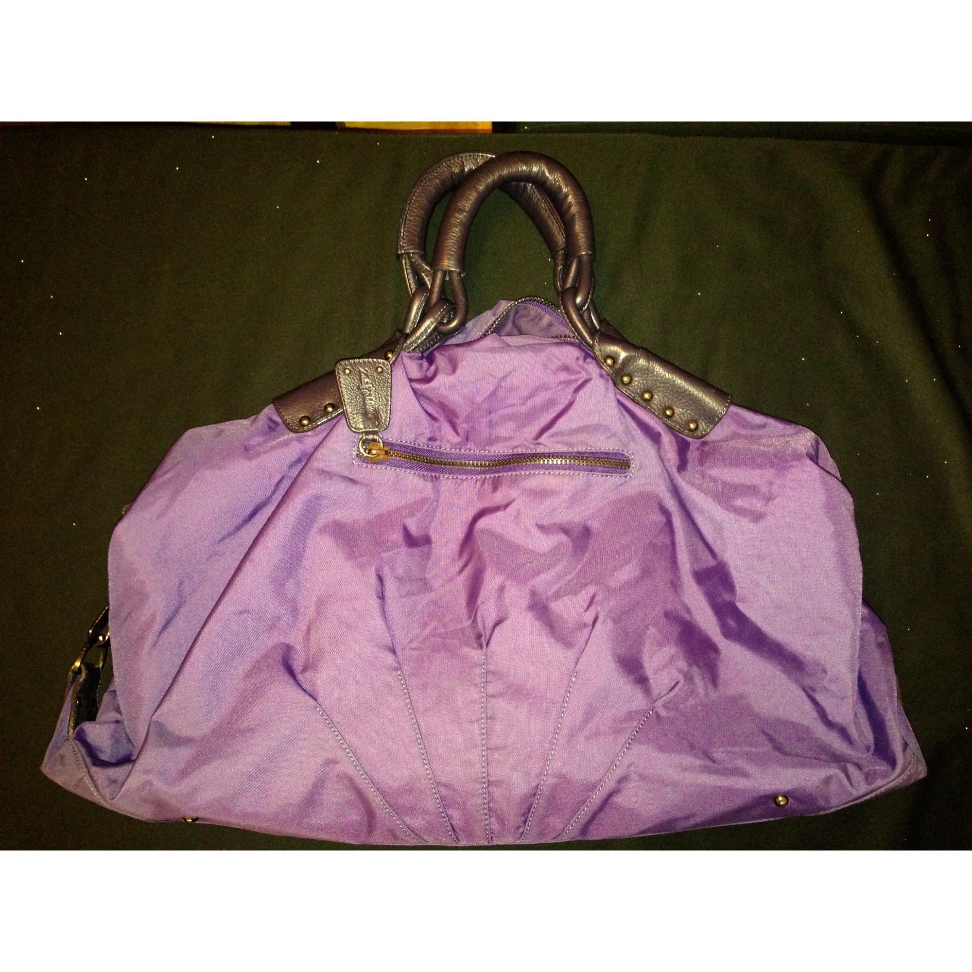 Sac XL en tissu tissu violet Zadig & Voltaire en coloris Violet