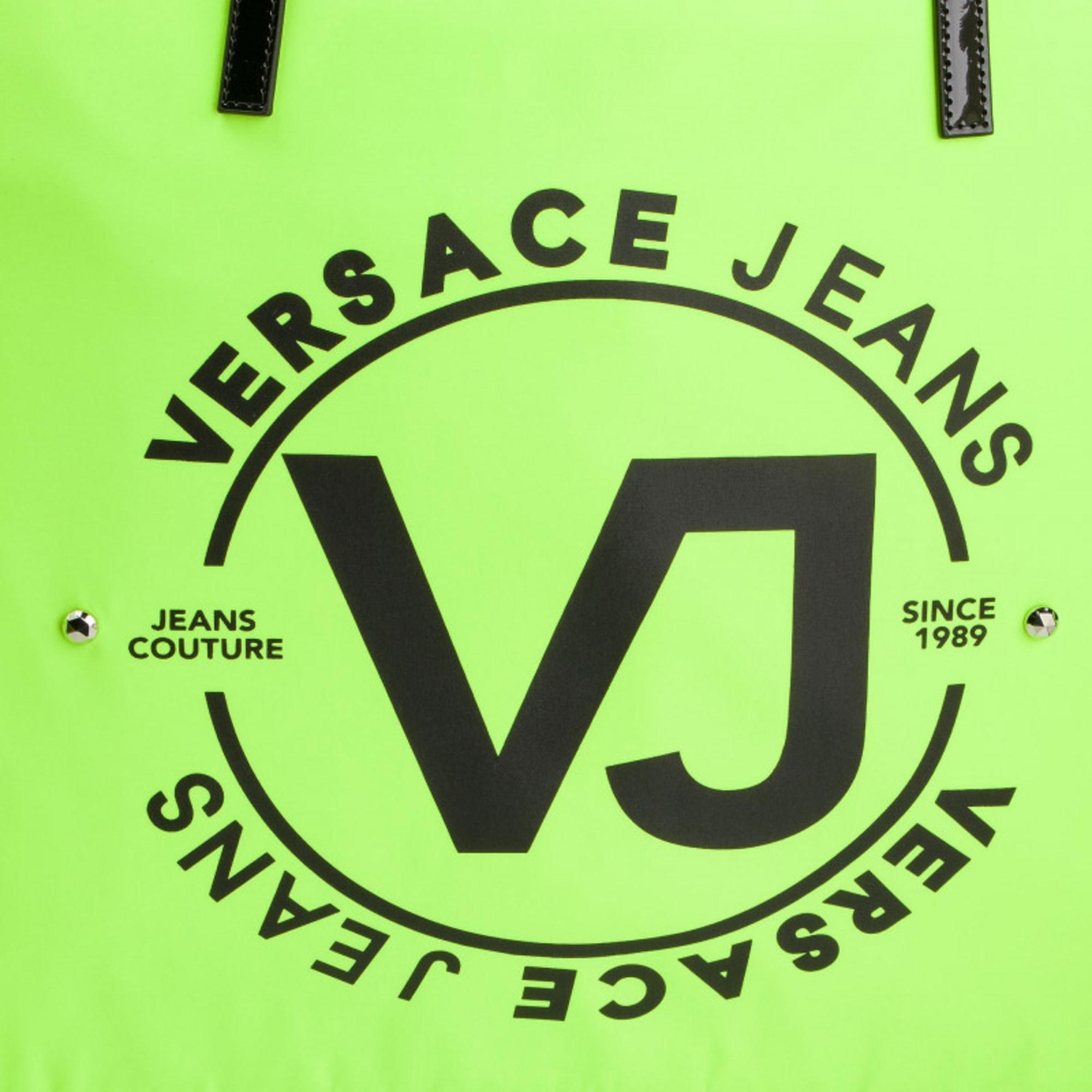 Sac XL en cuir synthétique vert Versace en coloris Vert