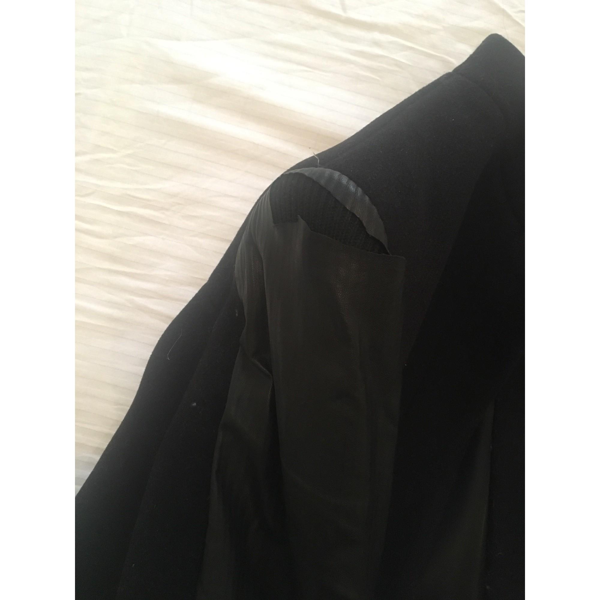 Manteau . noir Maje en coloris Noir 2m11z