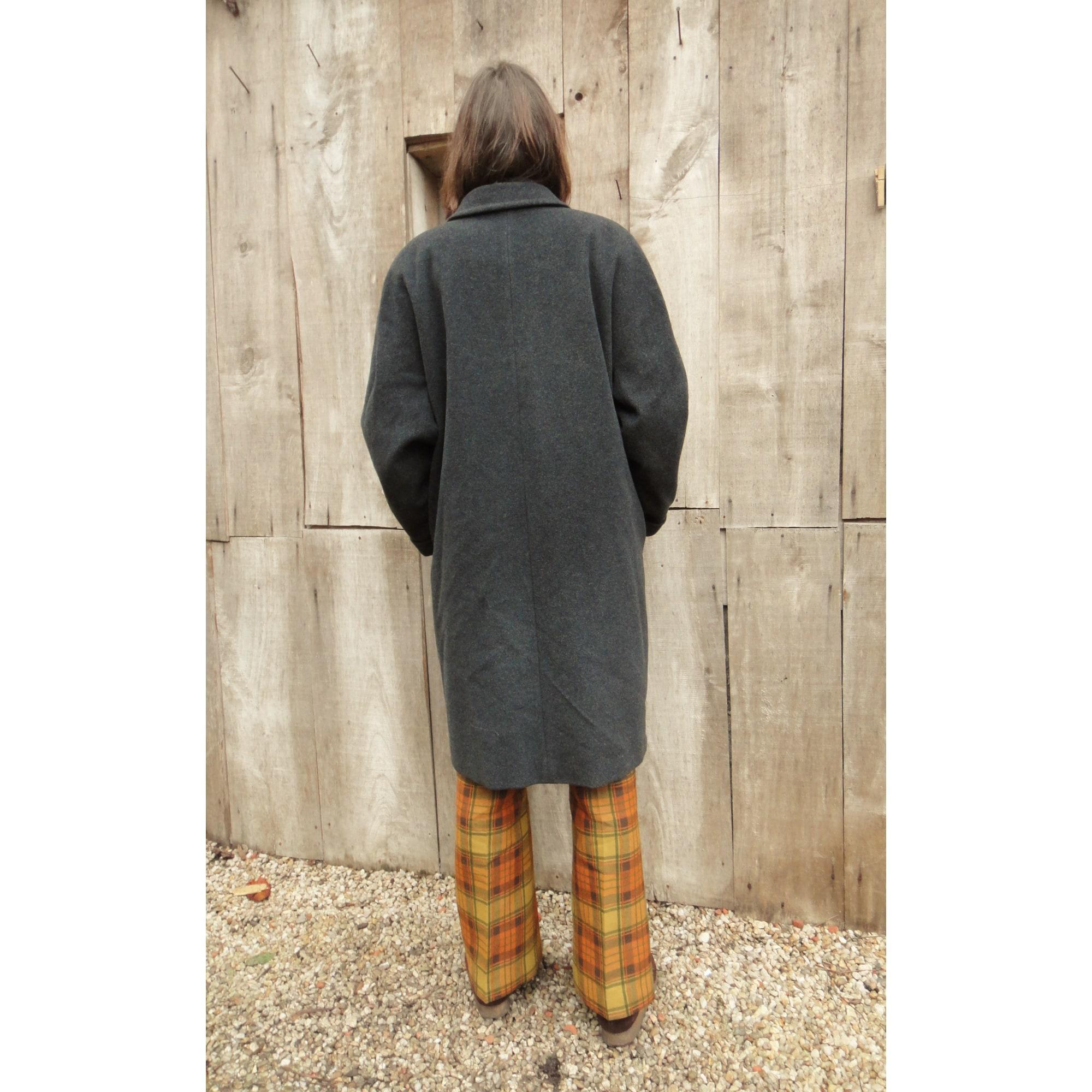 Manteau pure laine vierge gris Gerard Darel en coloris Gris ZN8hz