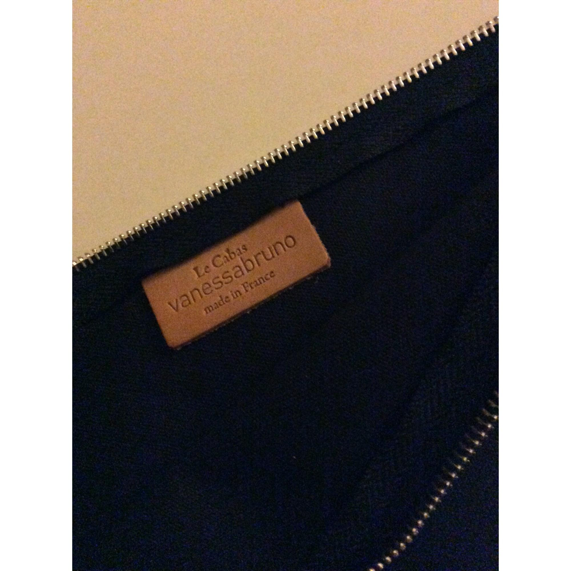 Pochette coton bleu Vanessa Bruno en coloris Bleu