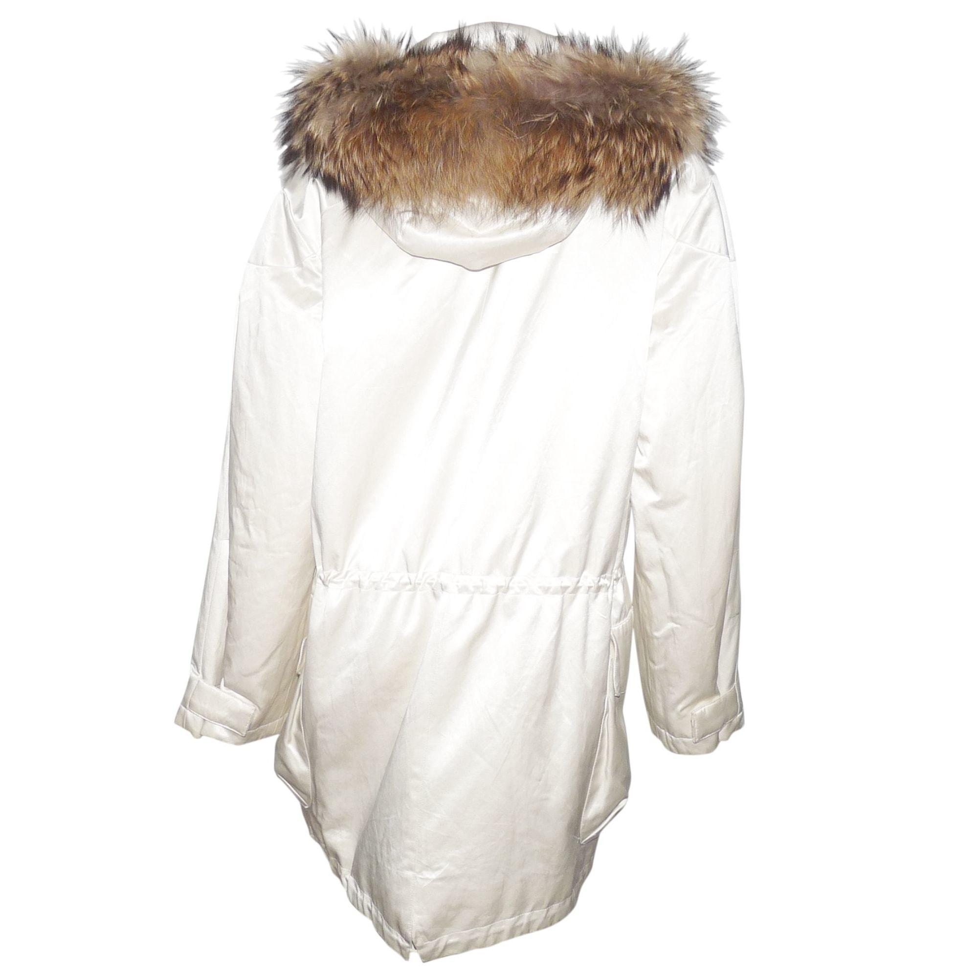 Parka coton blanc JOSEPH en coloris Blanc