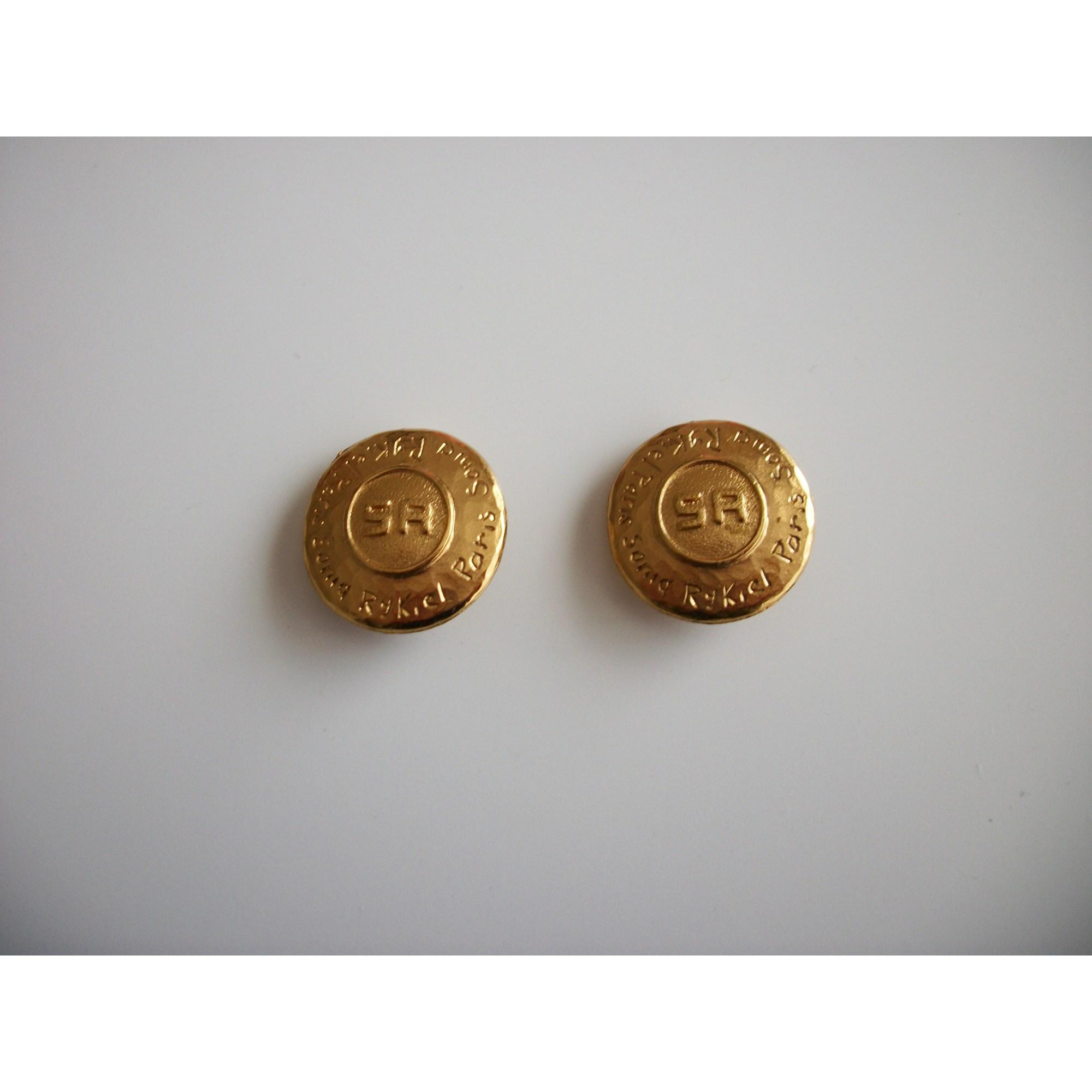 Boucles d'oreille métal doré Sonia Rykiel en coloris Métallisé XCRg