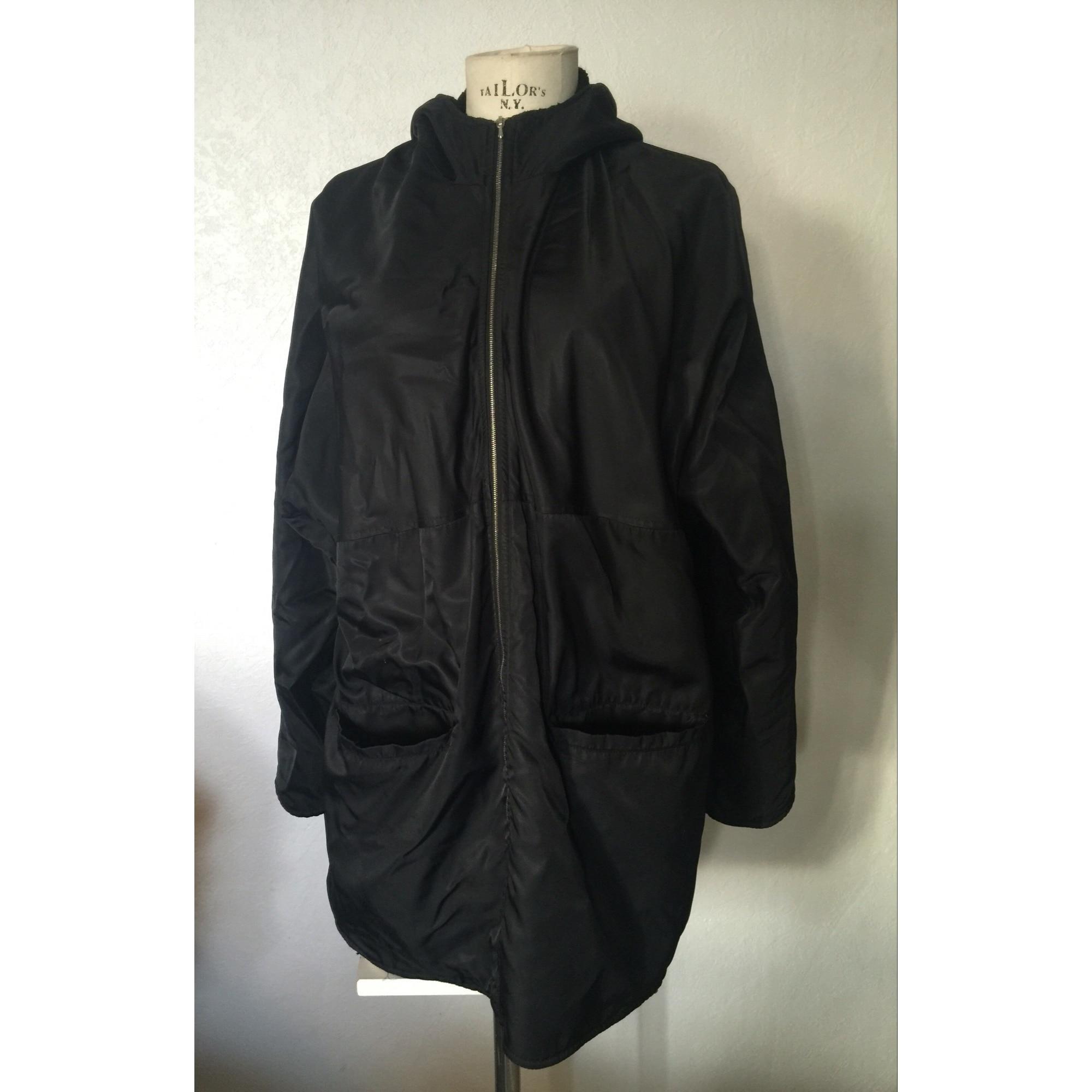 Parka polyamide noir Synthétique Claudie Pierlot en coloris Noir