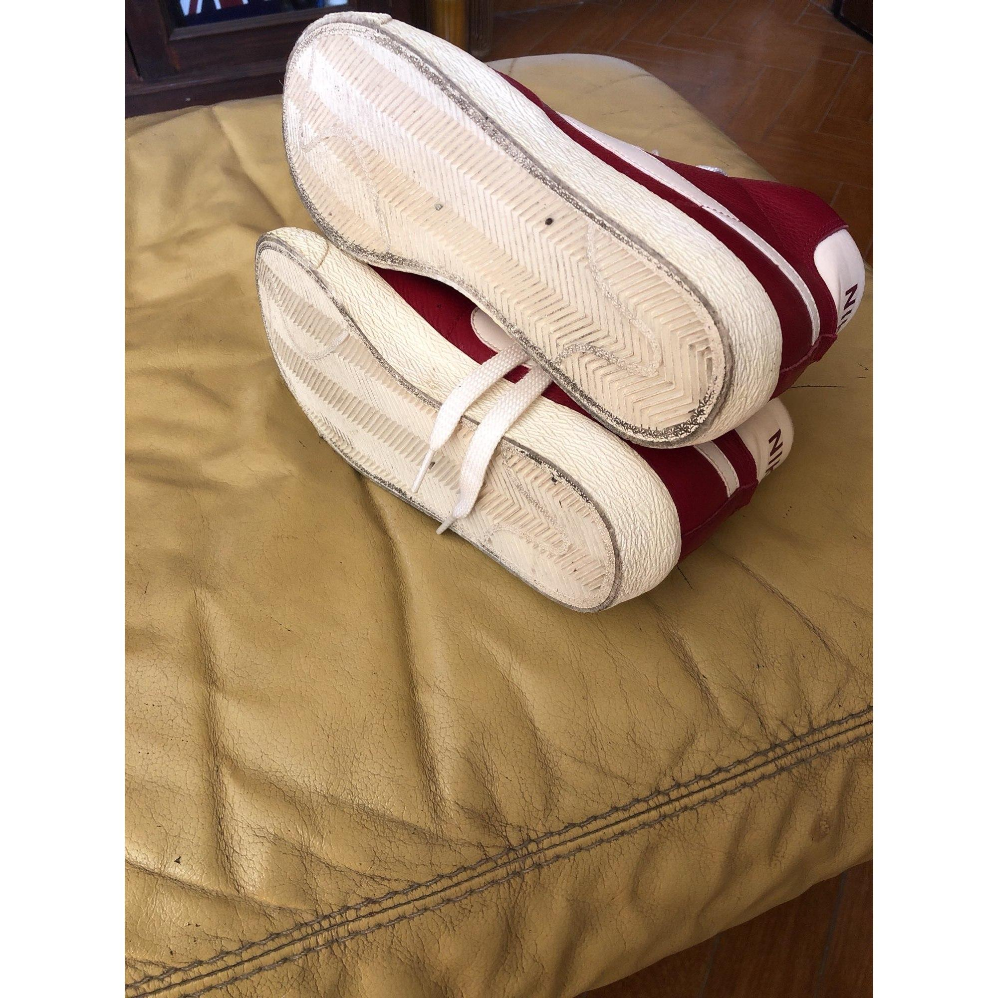 Baskets caoutchouc rouge Nike en coloris Rouge Rk3q