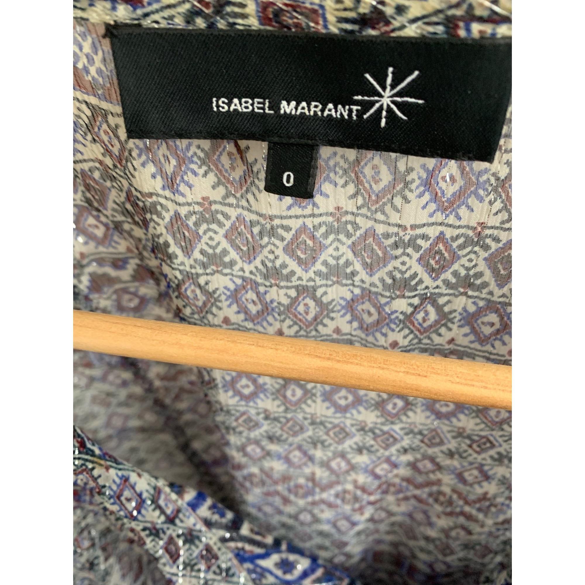 Débardeur soie gris Isabel Marant en coloris Gris - 18 % de réduction