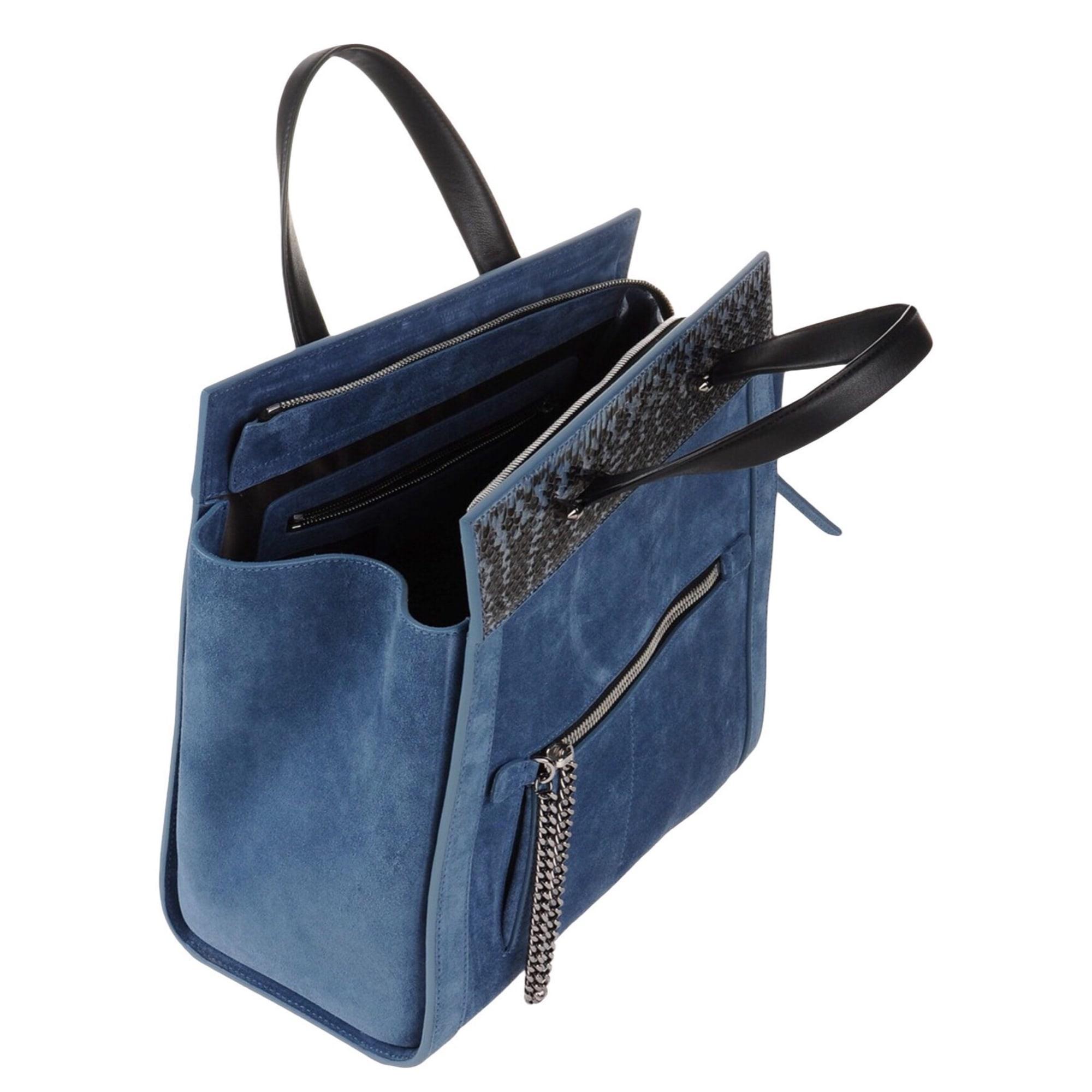 Sac à main en cuir cuir bleu Barbara Bui en coloris Bleu P111