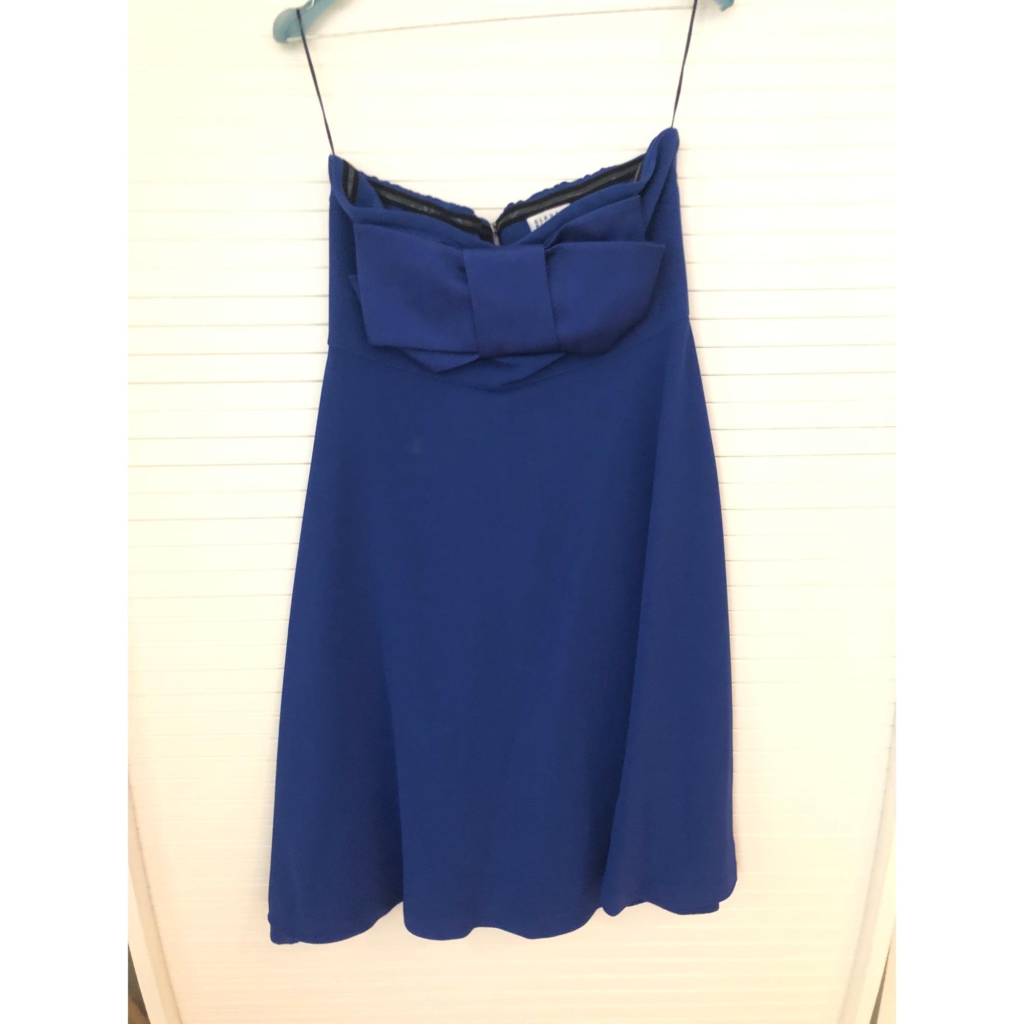 Robe bustier viscose bleu Synthétique Claudie Pierlot en coloris Bleu