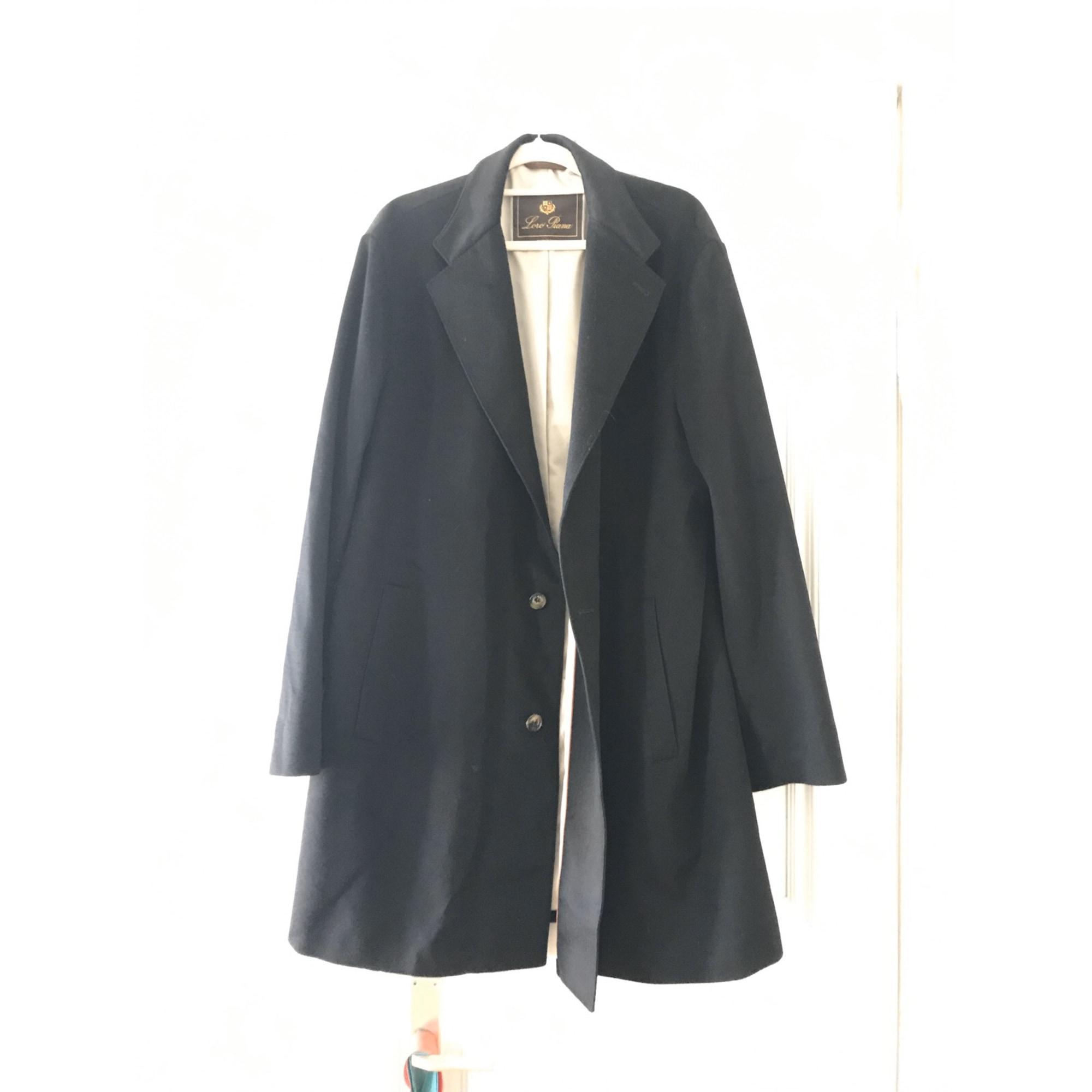 Manteau cachemire noir Loro Piana en coloris Noir CbsRG