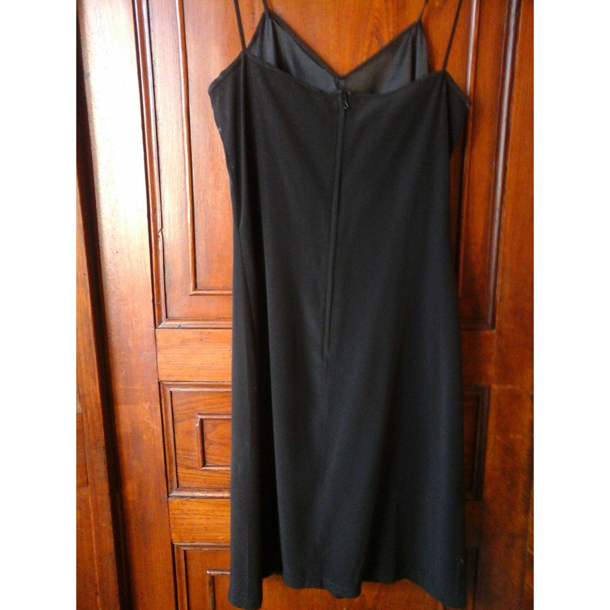Robe courte soie noir Claudie Pierlot en coloris Noir