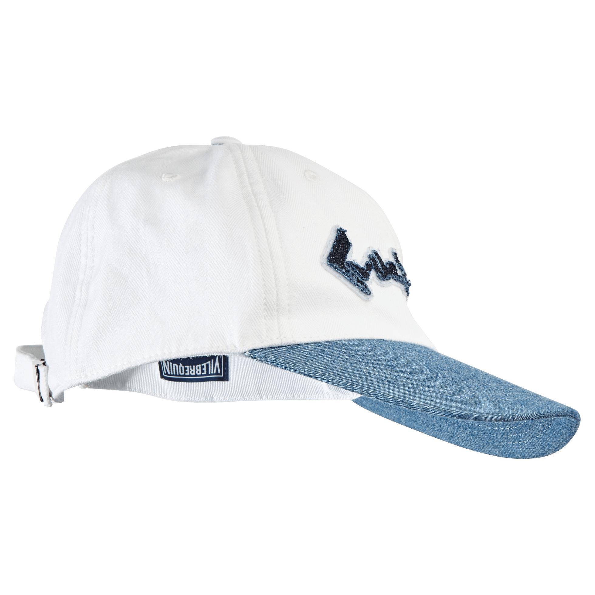 dd97685cb10253 Lyst - Vilebrequin Men Baseball Cap Vintage Logo in White for Men