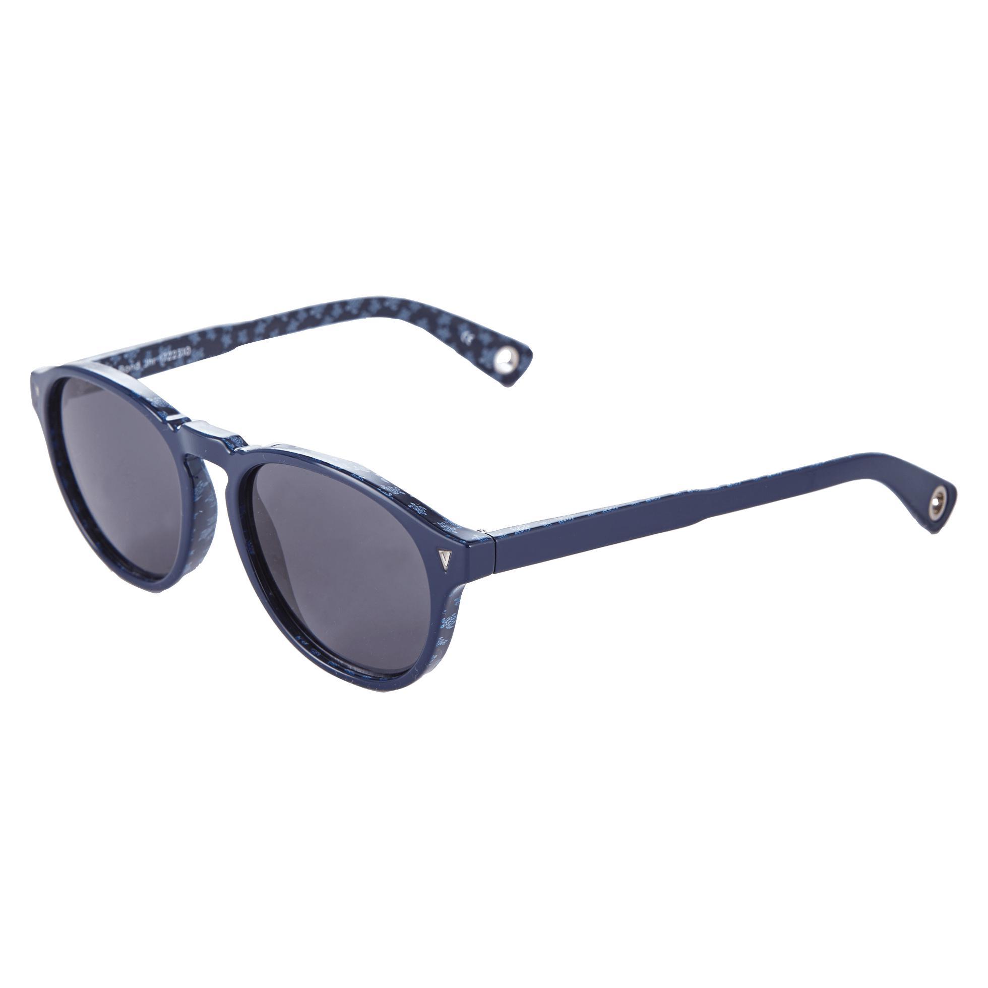 Vilebrequin Turtles Acetate Sunglasses, Zeiss Lenses in Navy (Blue)