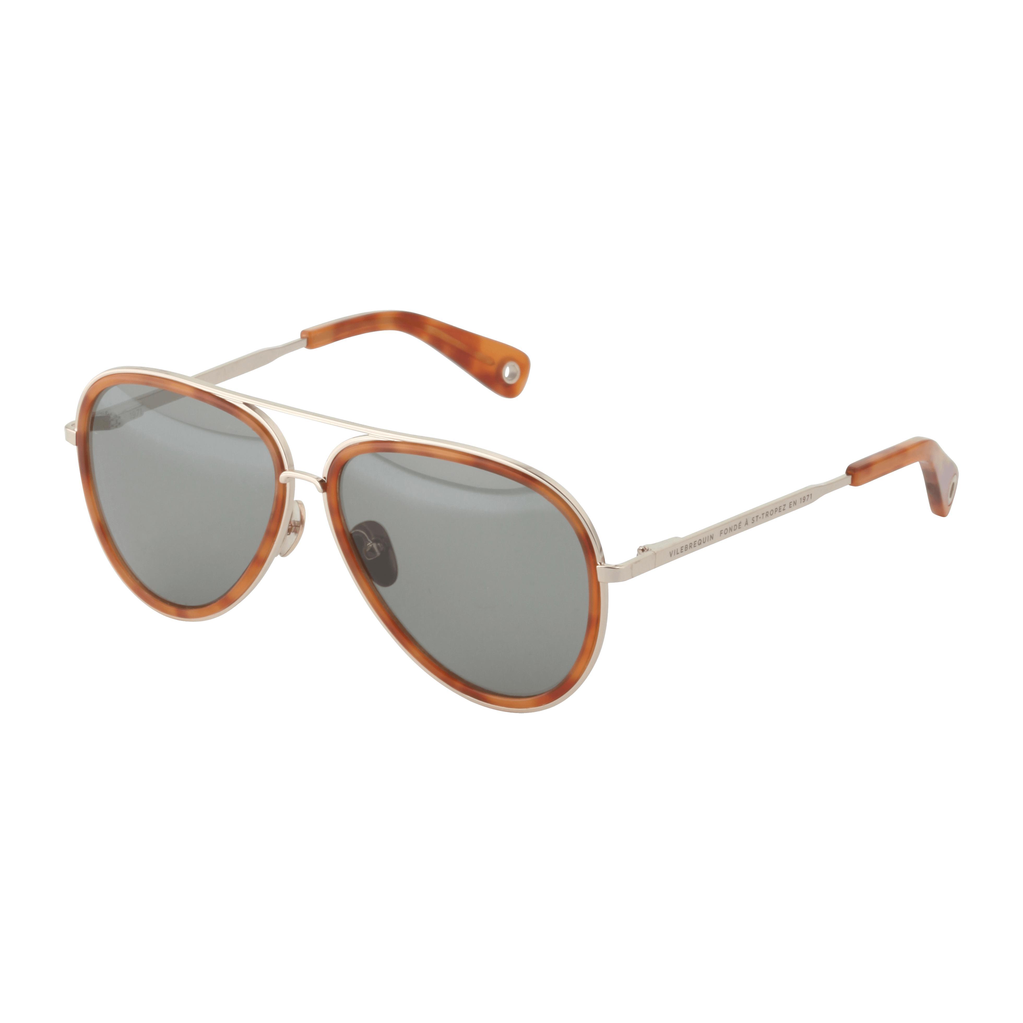 Vilebrequin Sunglasses Retro Polarized in Brown