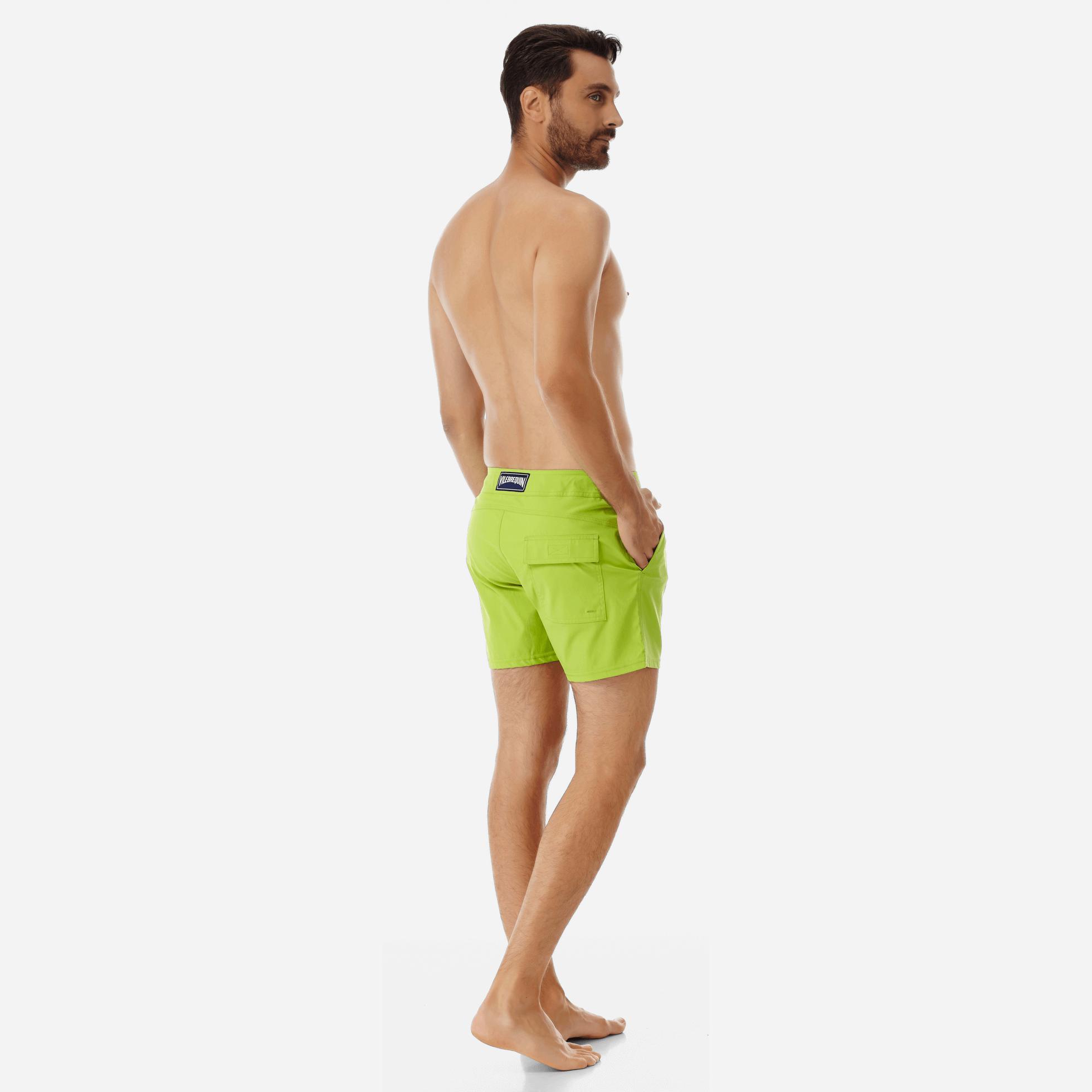 586b0a6300 Vilebrequin - Green Men Flat Belt Stretch Swimwear Solid for Men - Lyst.  View fullscreen