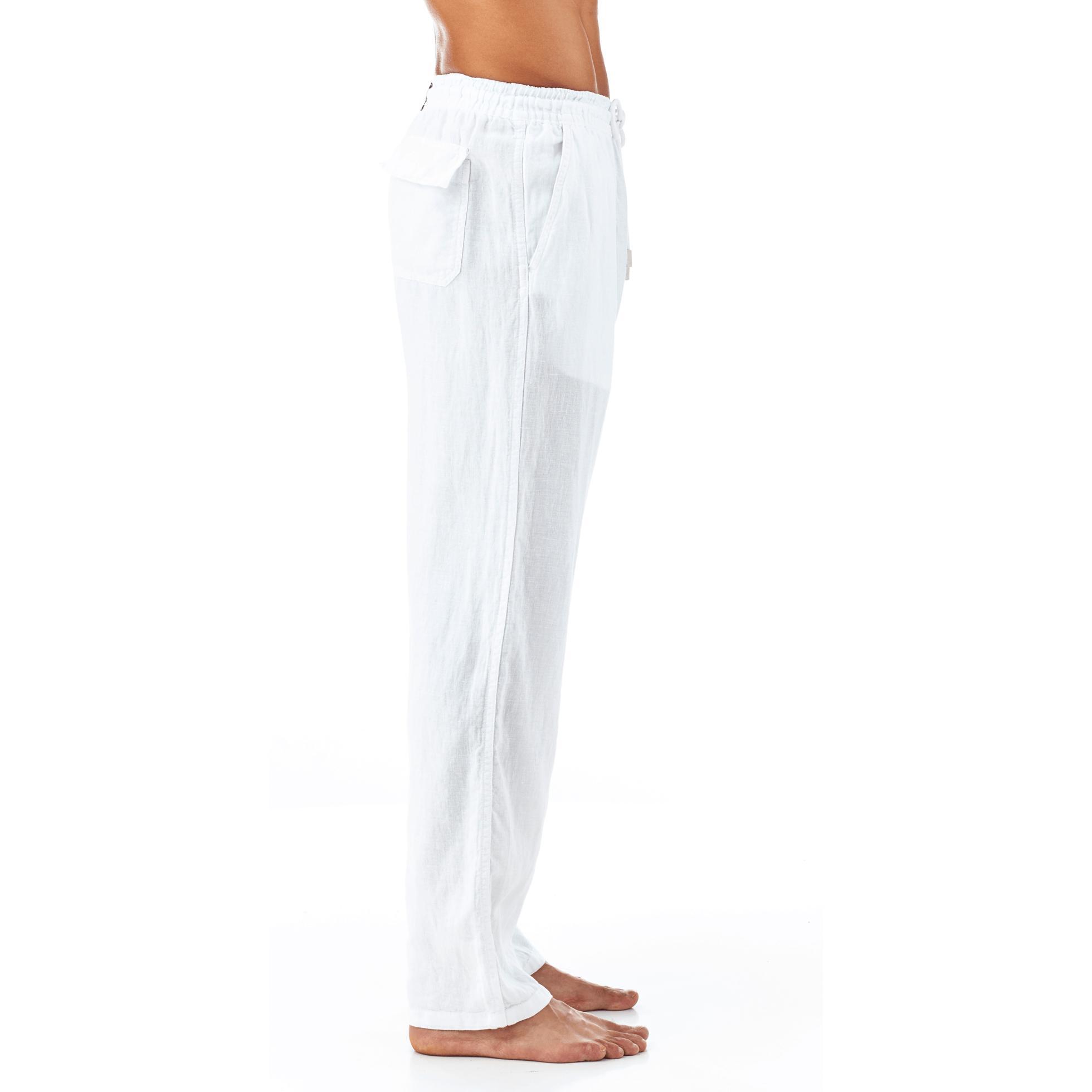 Mens Linen Dress Pants Anlis