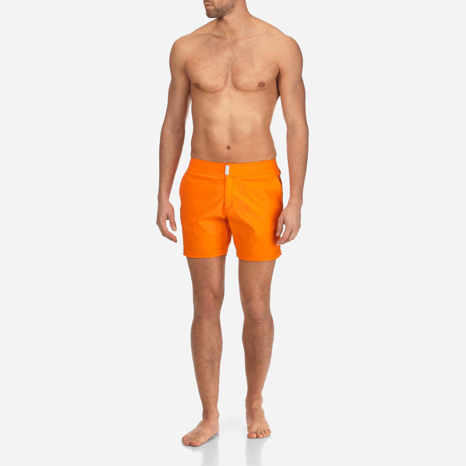 0465c87e9c ... Flat Belt Stretch Swimtrunks Solid for Men - Lyst · Visit Vilebrequin.  Tap to visit site
