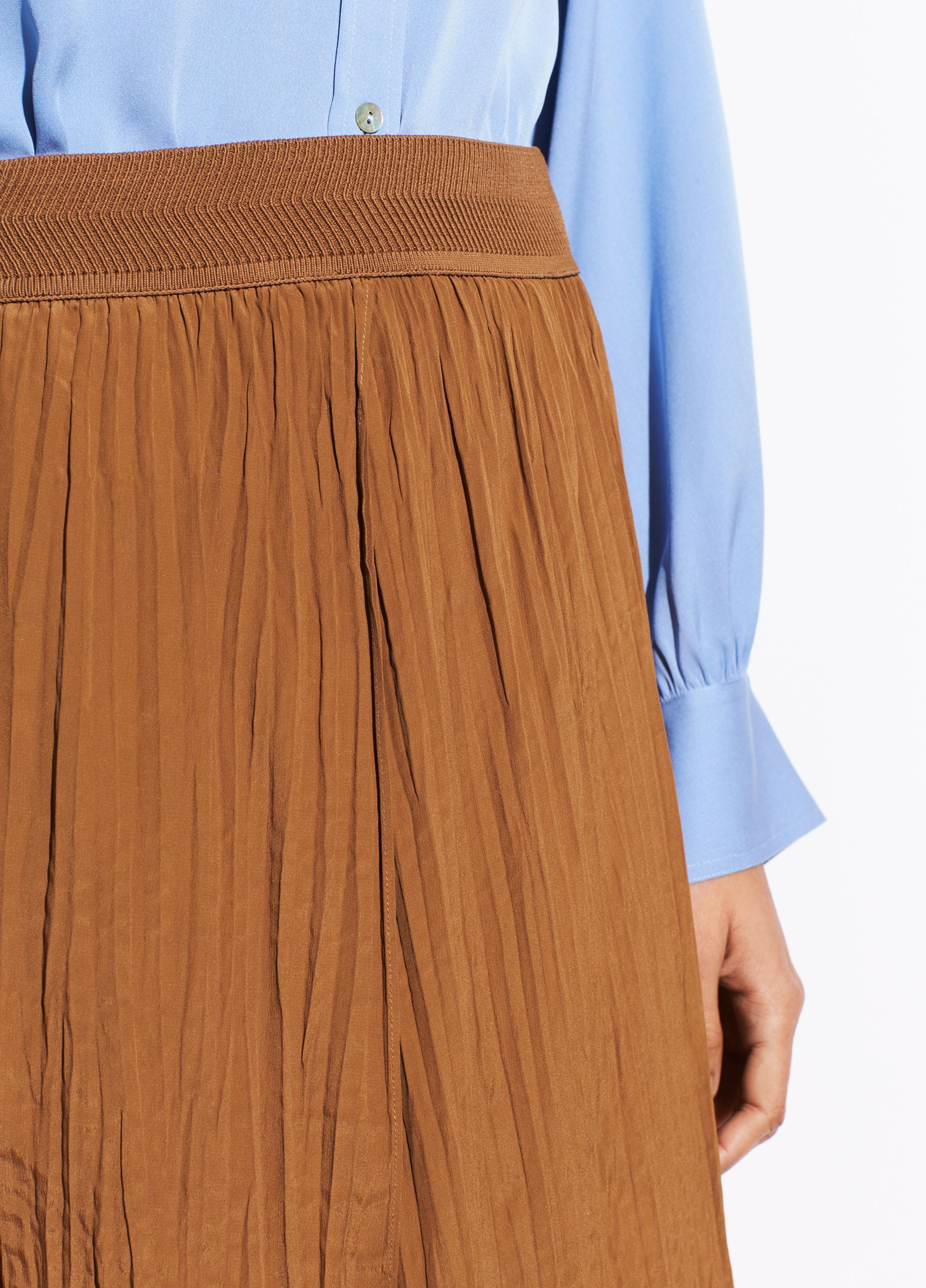 6cb6dc16de Vince - Multicolor Crinkle Pleat Skirt - Lyst. View fullscreen