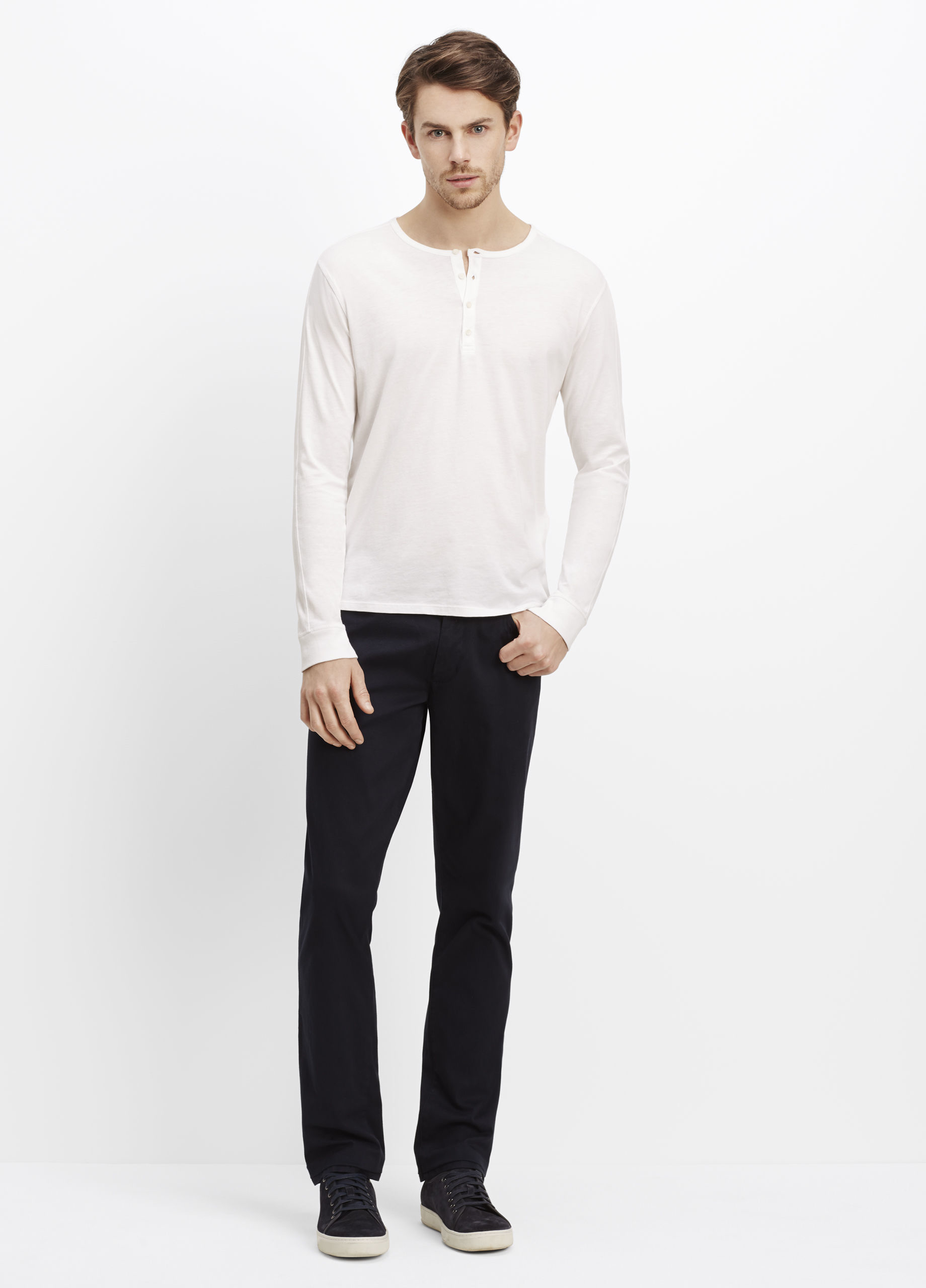 Find great deals on eBay for mens white long sleeve henley. Shop with confidence.
