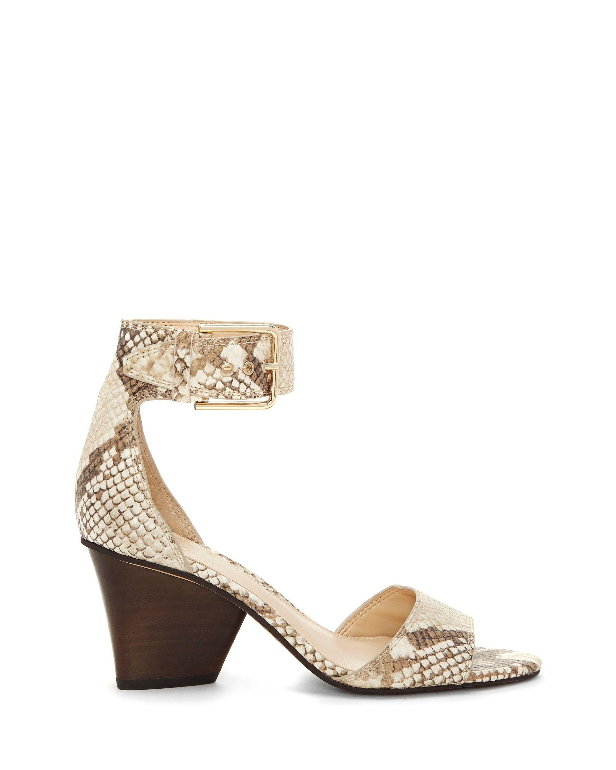 c6aa915f940 Lyst - Vince Camuto Driton – Ankle-buckle Sandal in Natural
