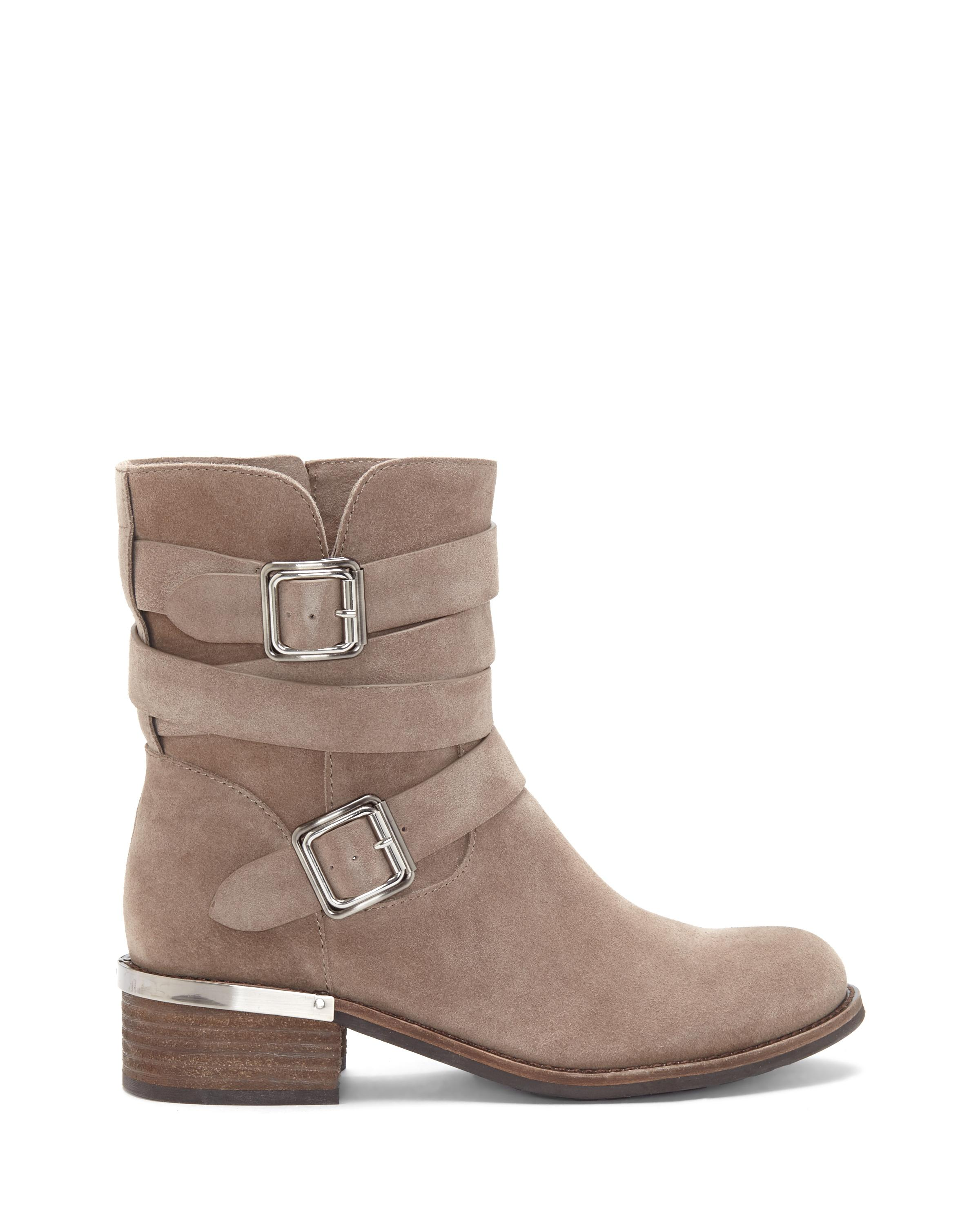 Lyst Vince Camuto Webey Moto Bootie