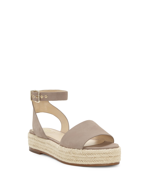 359764e8828 Lyst - Vince Camuto Kathalia – Flatform Espadrille Sandal in Natural