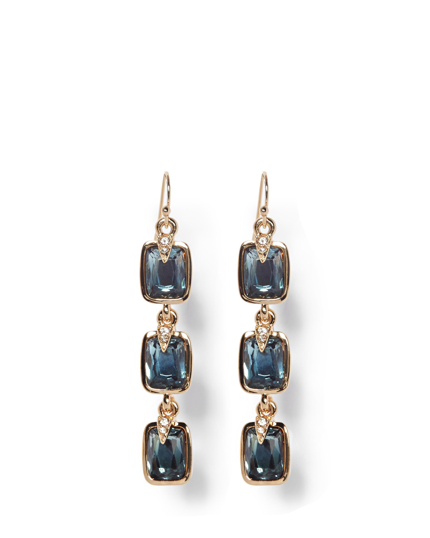 Featured Vince Camuto Multicolor Blue Jewel Drop Earrings