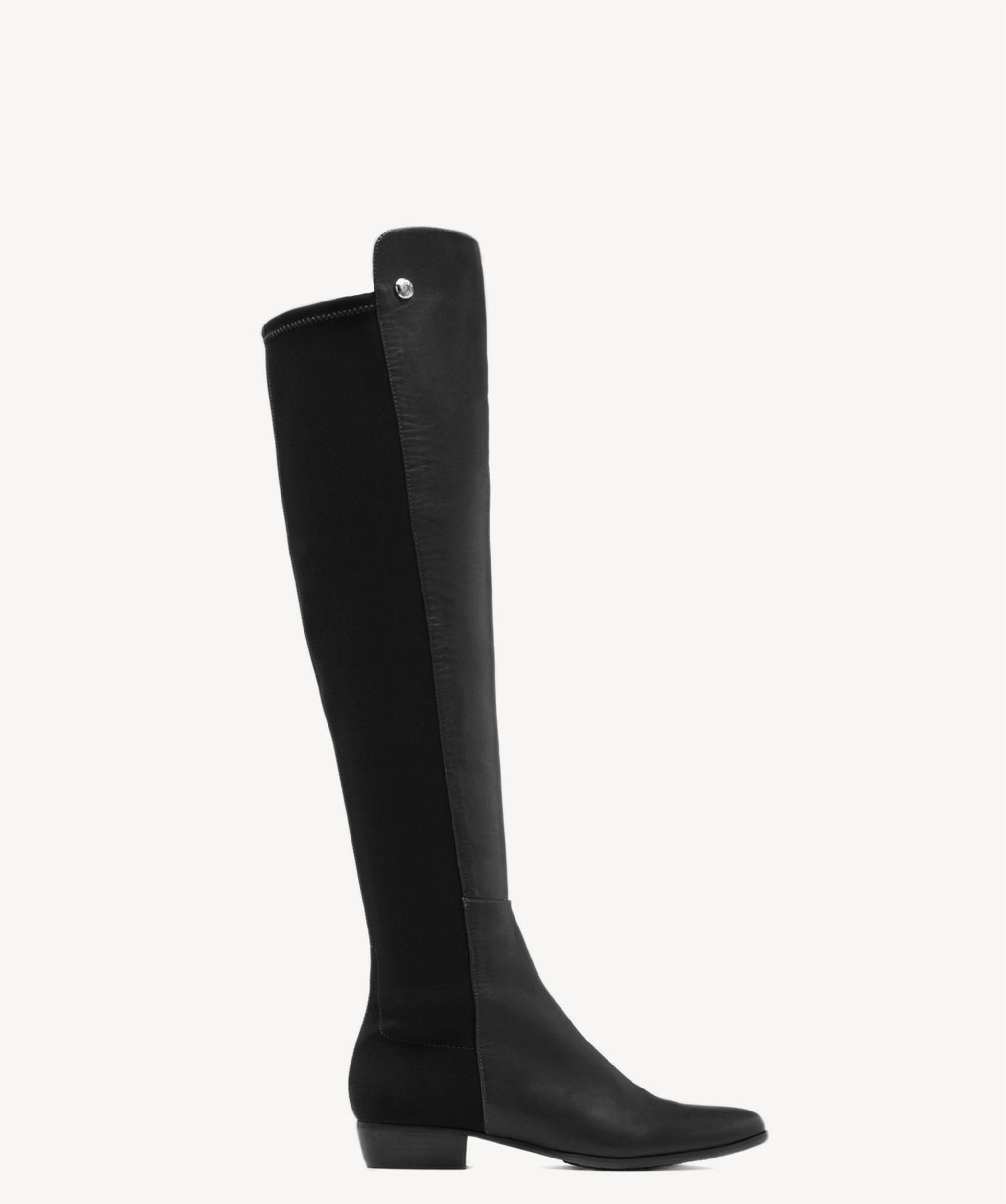 761aa3d9a7b Lyst - Vince Camuto Karita – Neoprene & Leather Boot in Black