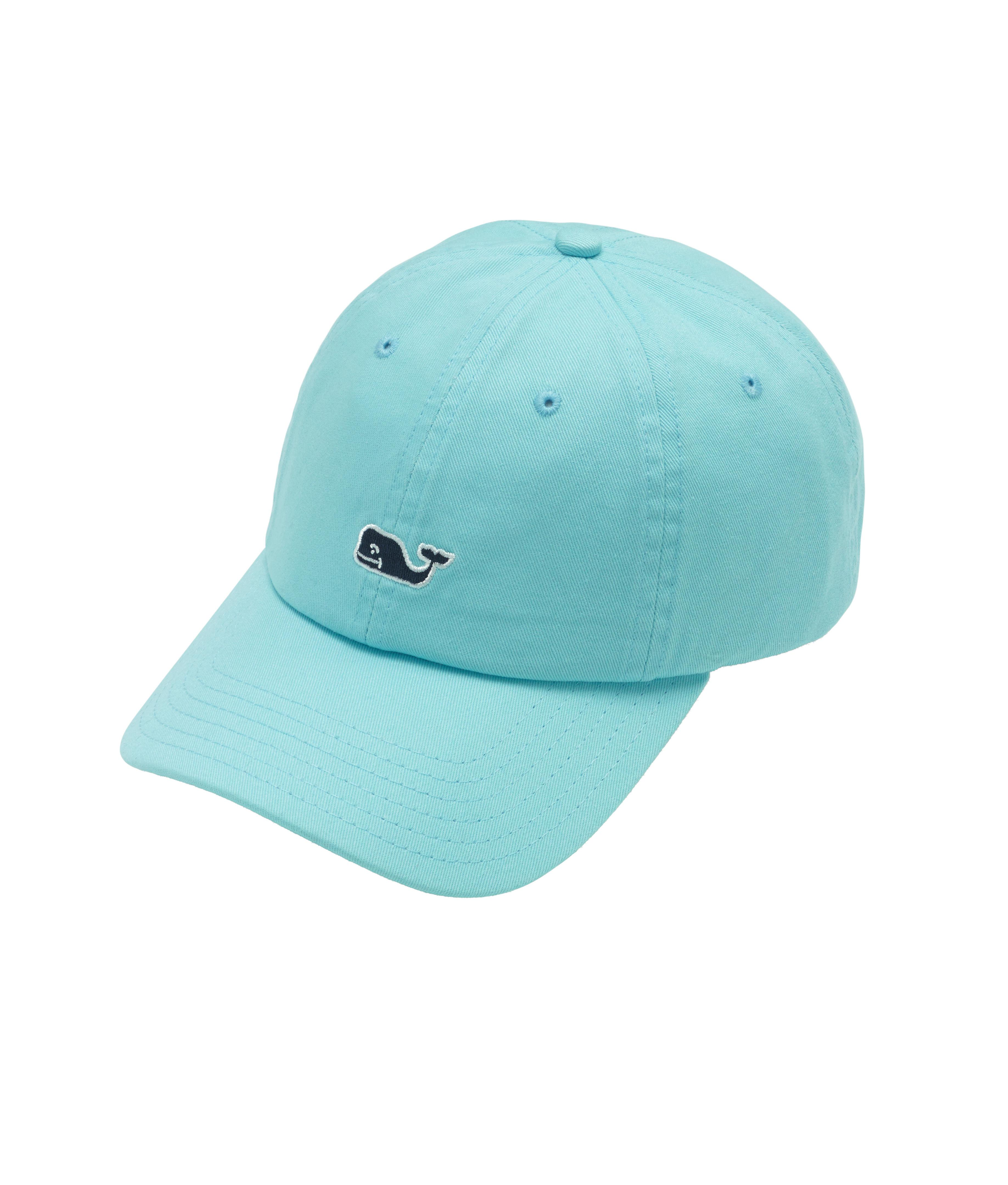 0f882b8a0 Vineyard Vines Blue Whale Logo Baseball Hat for men