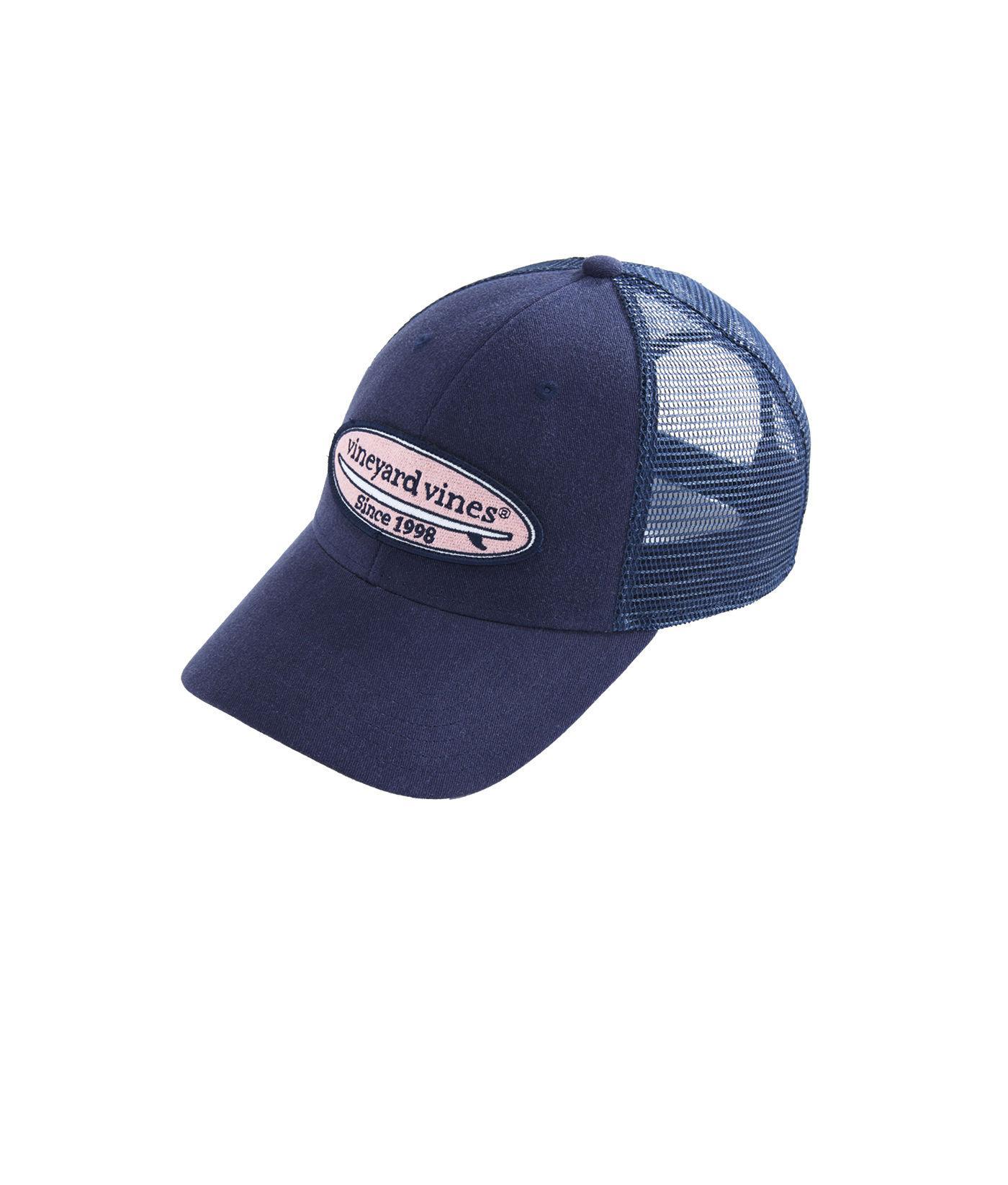 b56fcd944f6 Lyst - Vineyard Vines Surf Patch Trucker Hat in Blue for Men