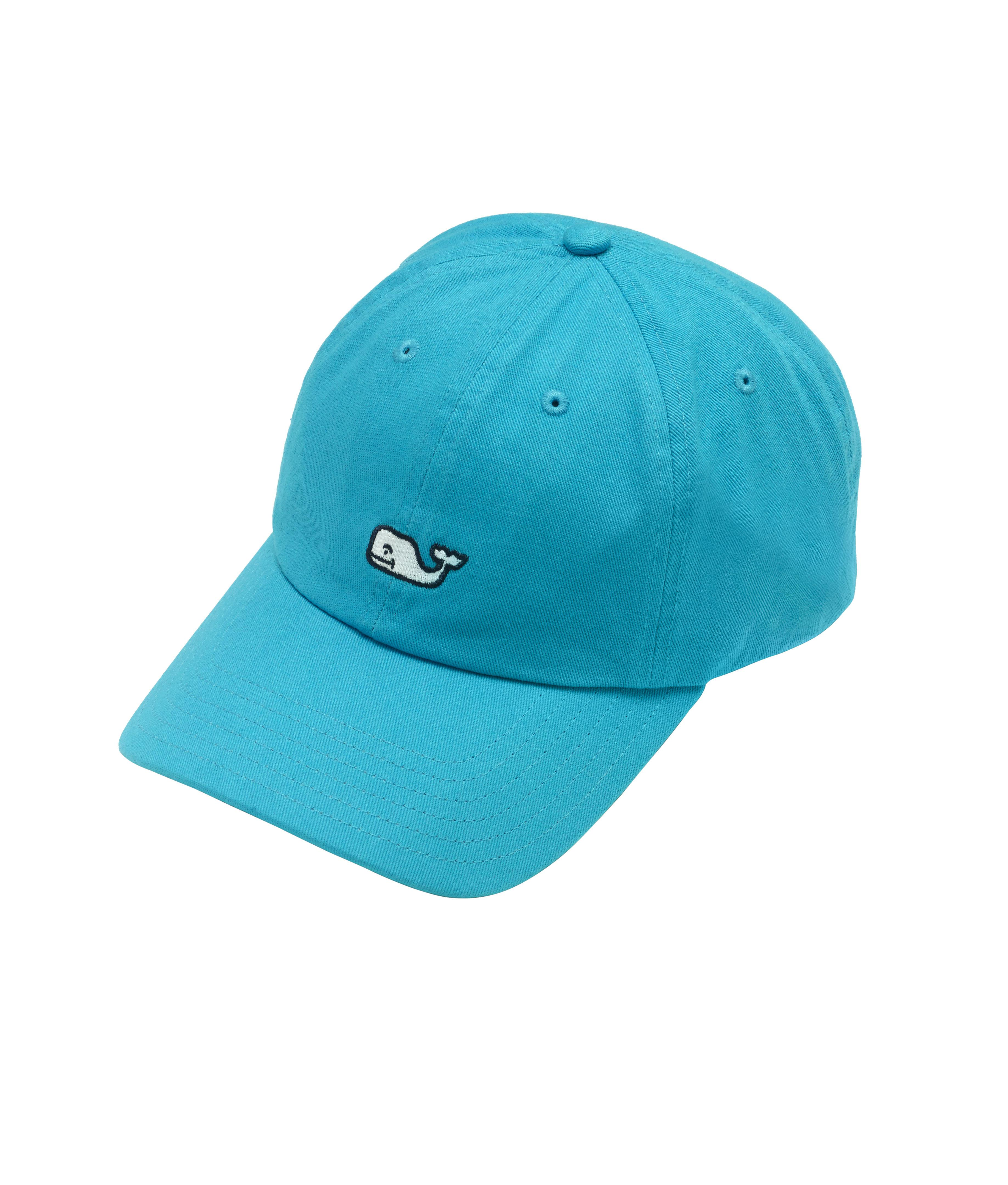 b391b8f9 Lyst - Vineyard Vines Whale Logo Baseball Hat in Blue for Men