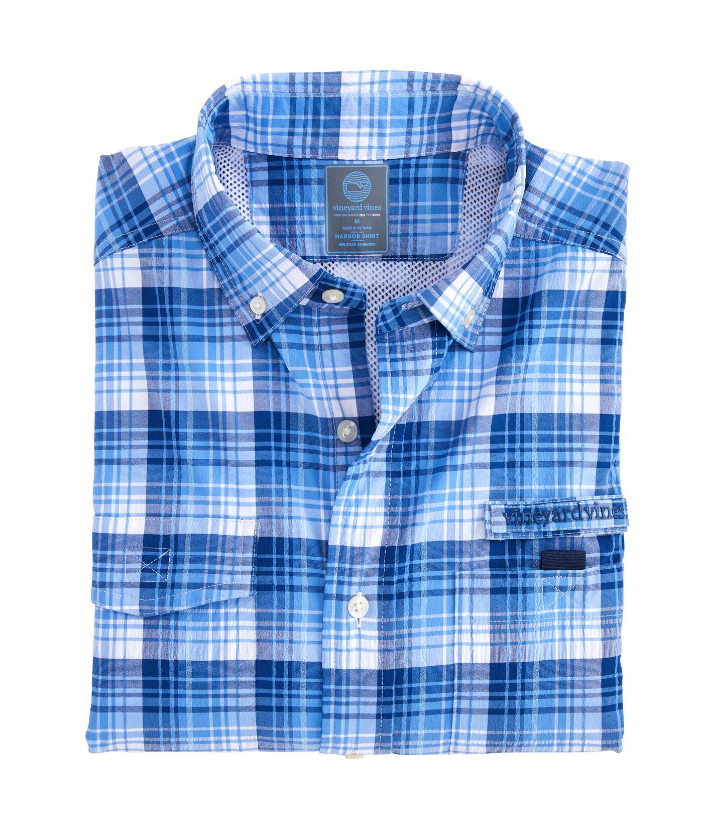 cee997bc69 Vineyard Vines Big & Tall Bighorn Harbor Shirt in Blue for Men - Lyst