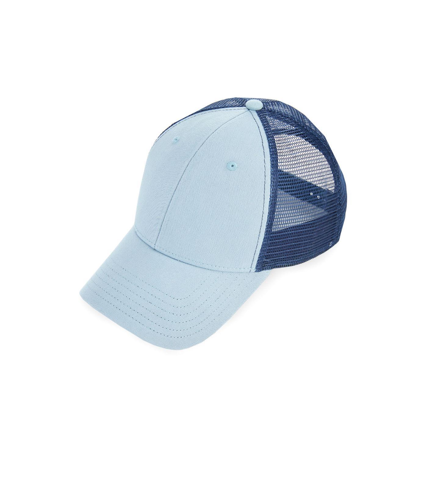 de2141db5b415 Lyst - Vineyard Vines Blank Trucker Hat in Blue for Men