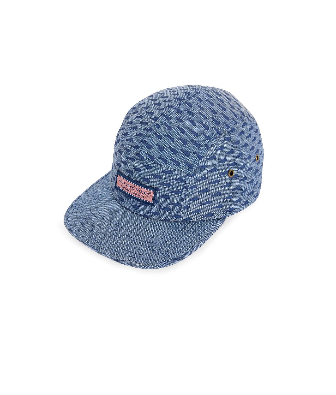 8eab69be06dd8 Lyst - Vineyard Vines Fish Printed Five Panel Hat in Blue for Men
