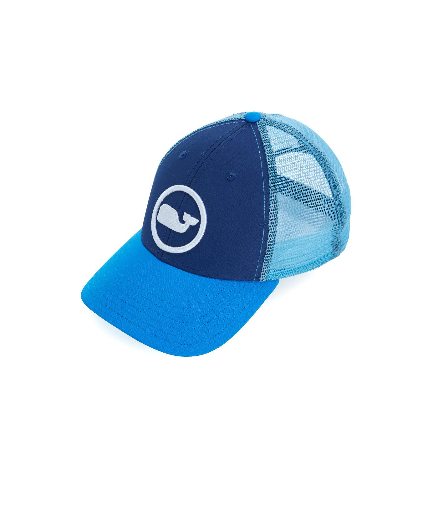 d5707851 Lyst - Vineyard Vines Big & Tall Whale Dot Trucker Hat in Blue for ...
