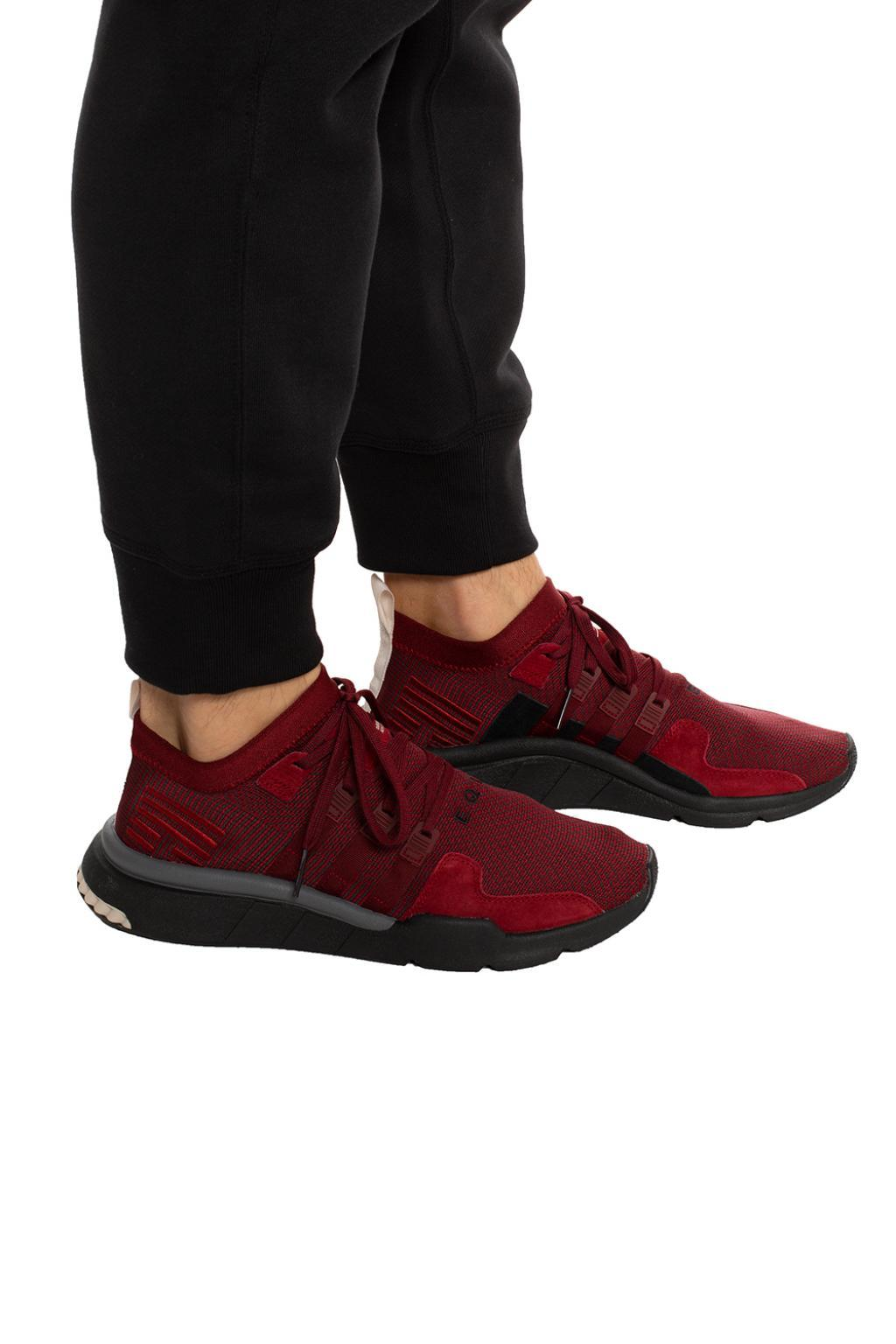 Mid Men Originals For 'eqt Adv' Adidas Support Sock Red Sneakers N8wPkn0OX