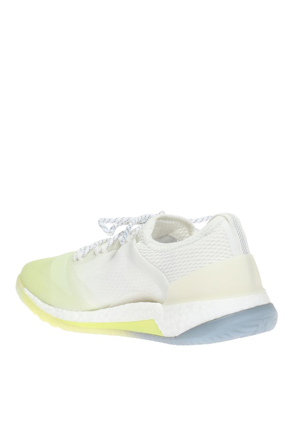 adidas By Stella McCartney Rubber Pureboost X Tr 3.0 Sneakers in White