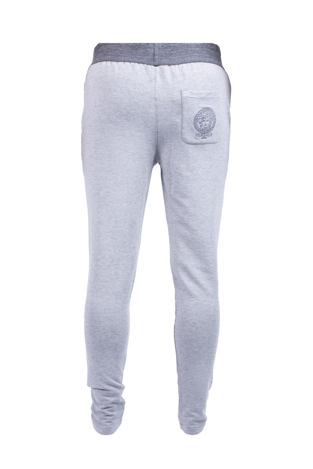 Versace Synthetic Pyjama Trousers in Blue for Men